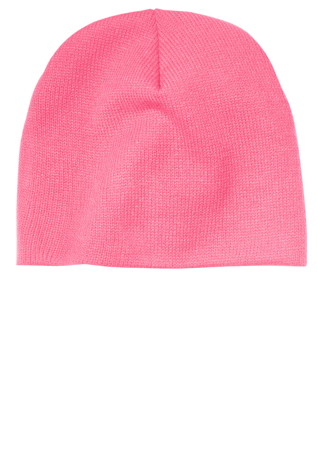 Port & Company ®  Beanie Cap.  CP91 - Neon Pink Glo