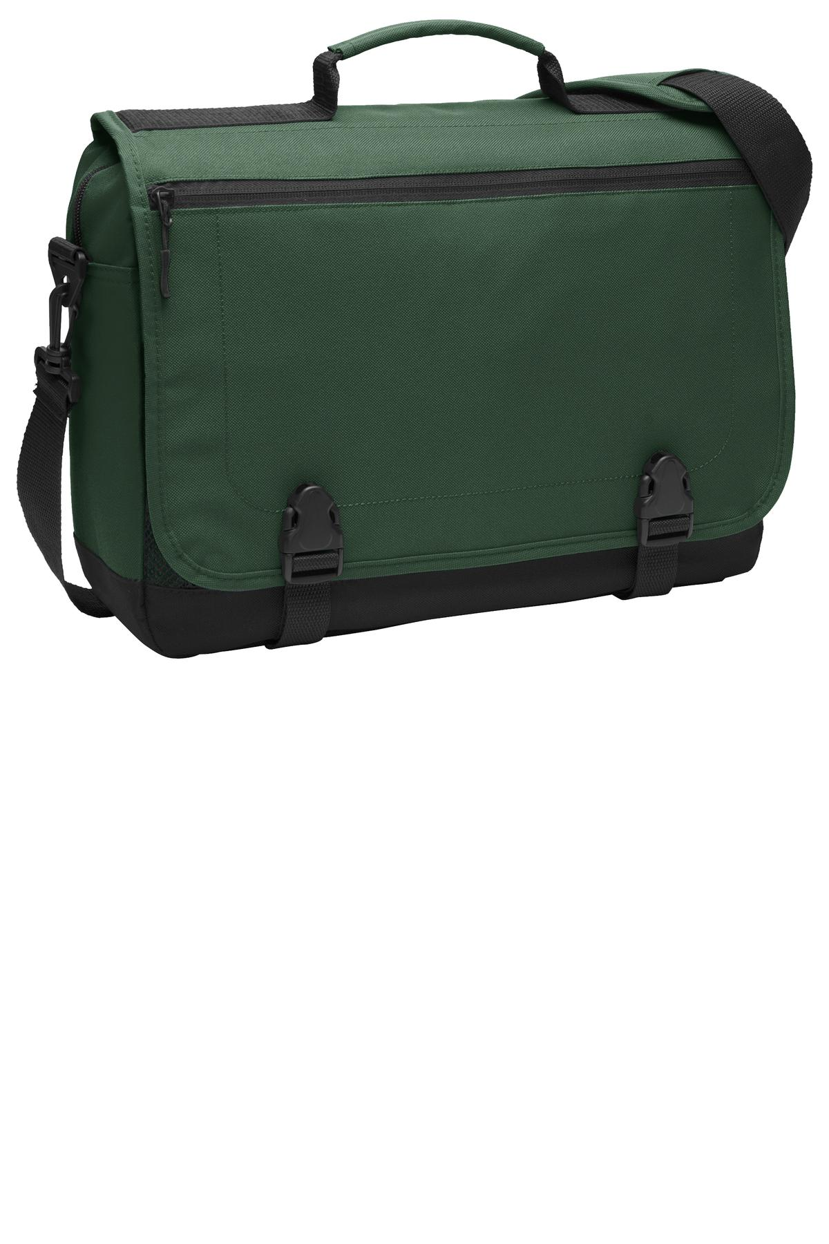 Port Authority ®  Messenger Briefcase. BG304 - Forest Green