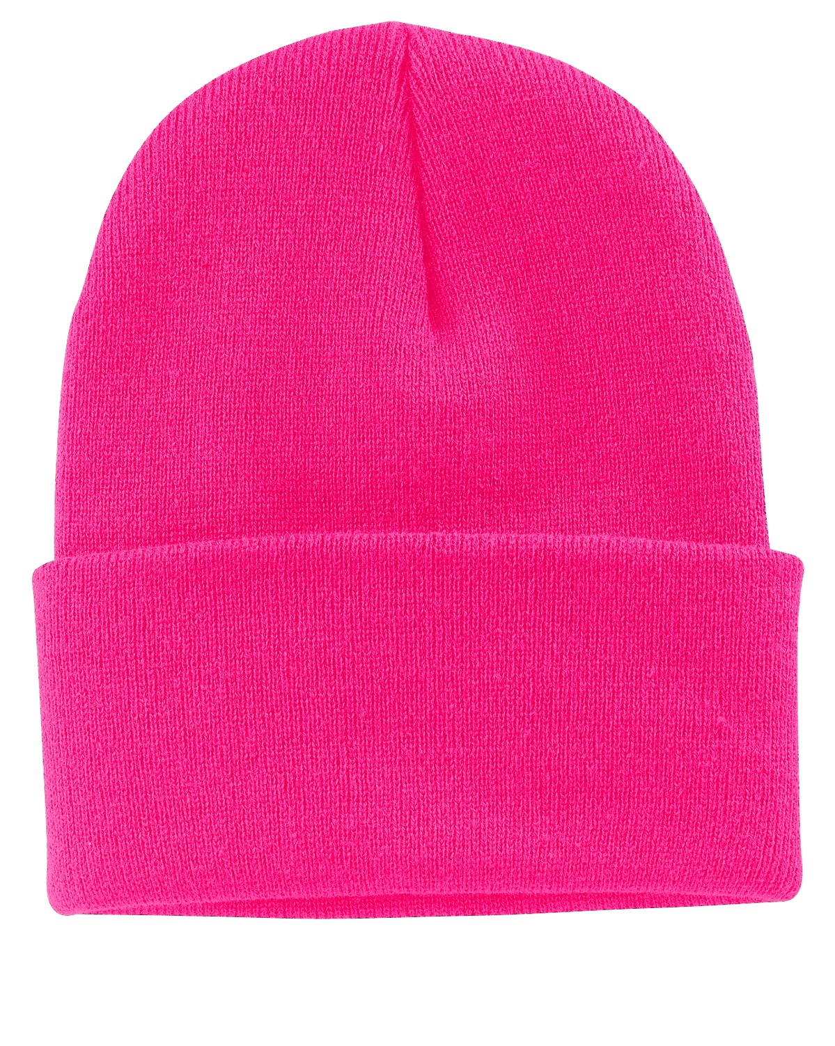 Port & Company ® Knit Cap.  CP90 - Neon Pink Glo