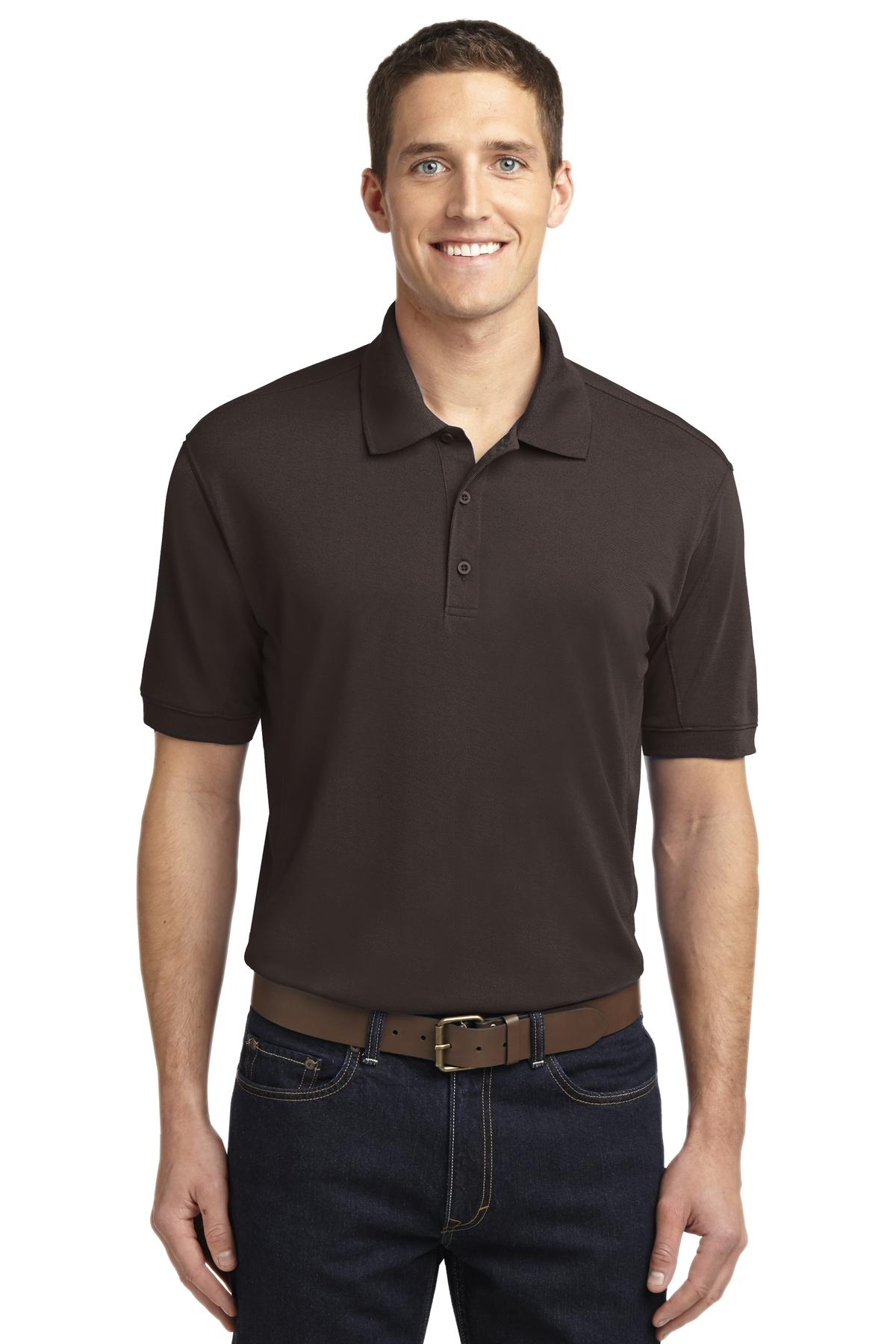 Port Authority ®  5-in-1 Performance Pique Polo. K567 - Chocolate Brown