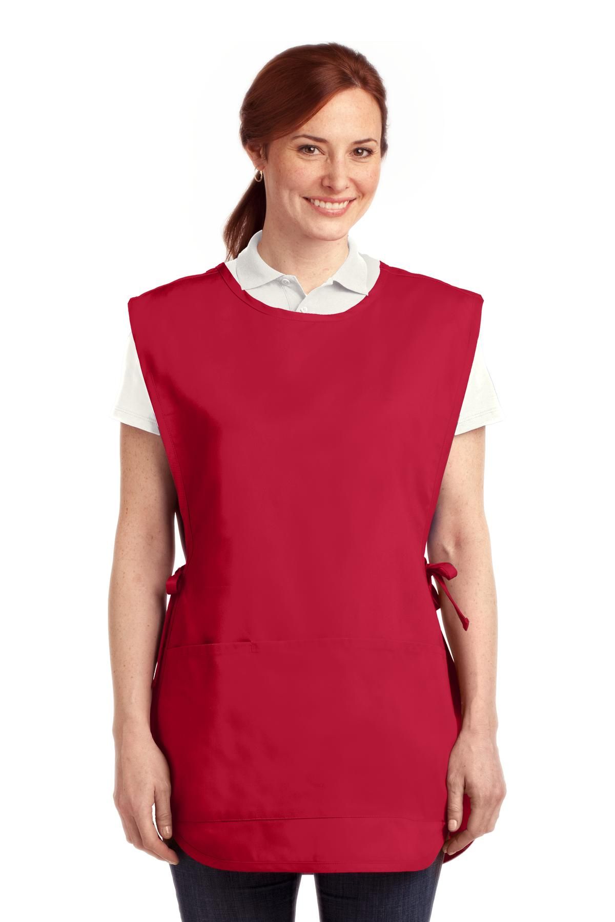 Port Authority ®  Easy Care Cobbler Apron with Stain Release. A705 - Red