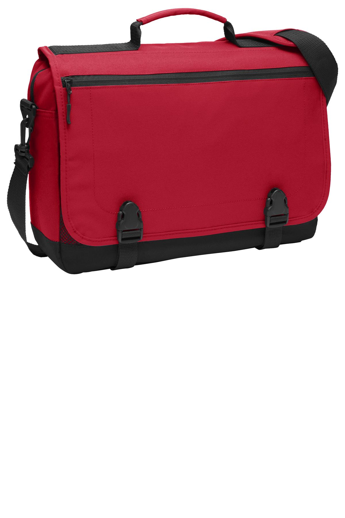 Port Authority ®  Messenger Briefcase. BG304 - Chili Red
