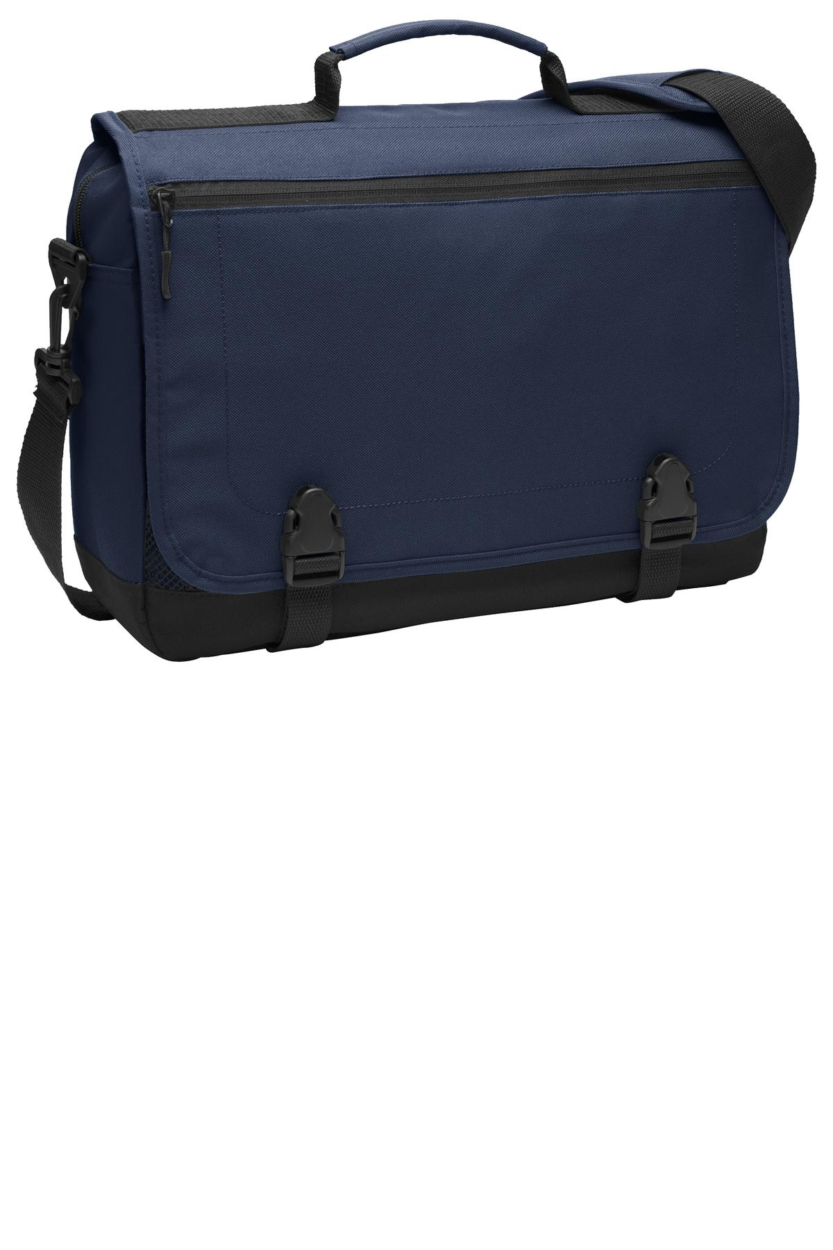 Port Authority ®  Messenger Briefcase. BG304 - Navy