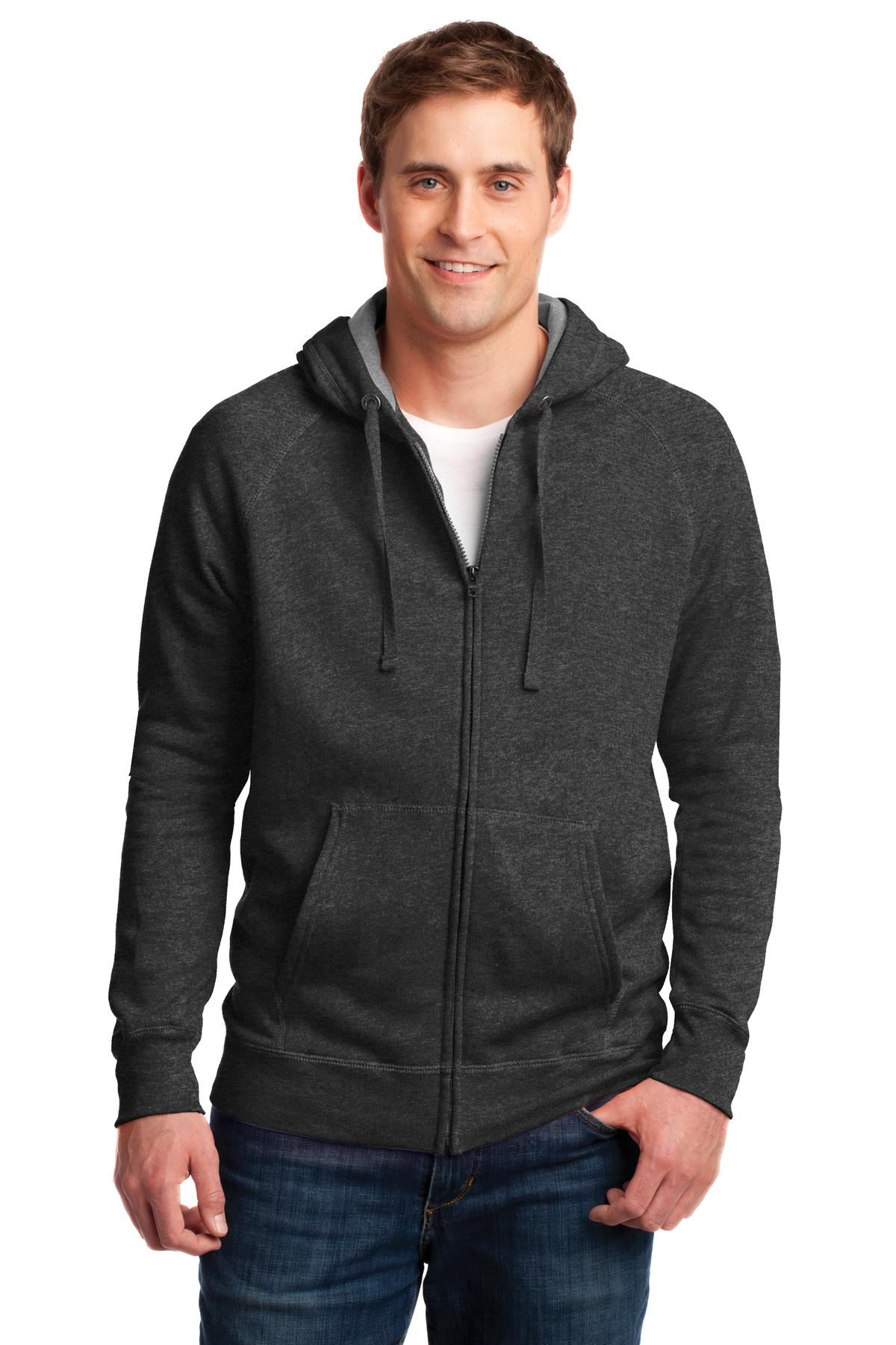 Hanes ®  Nano Full-Zip Hooded Sweatshirt. HN280 - Charcoal Heather*