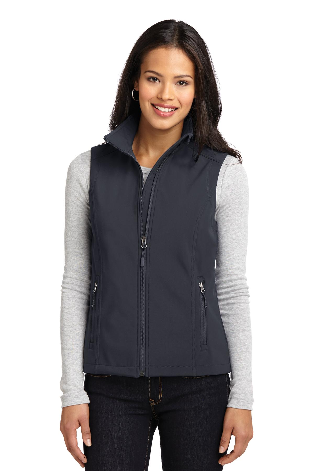 Port Authority ®  Ladies Core Soft Shell Vest. L325 - Battleship Grey