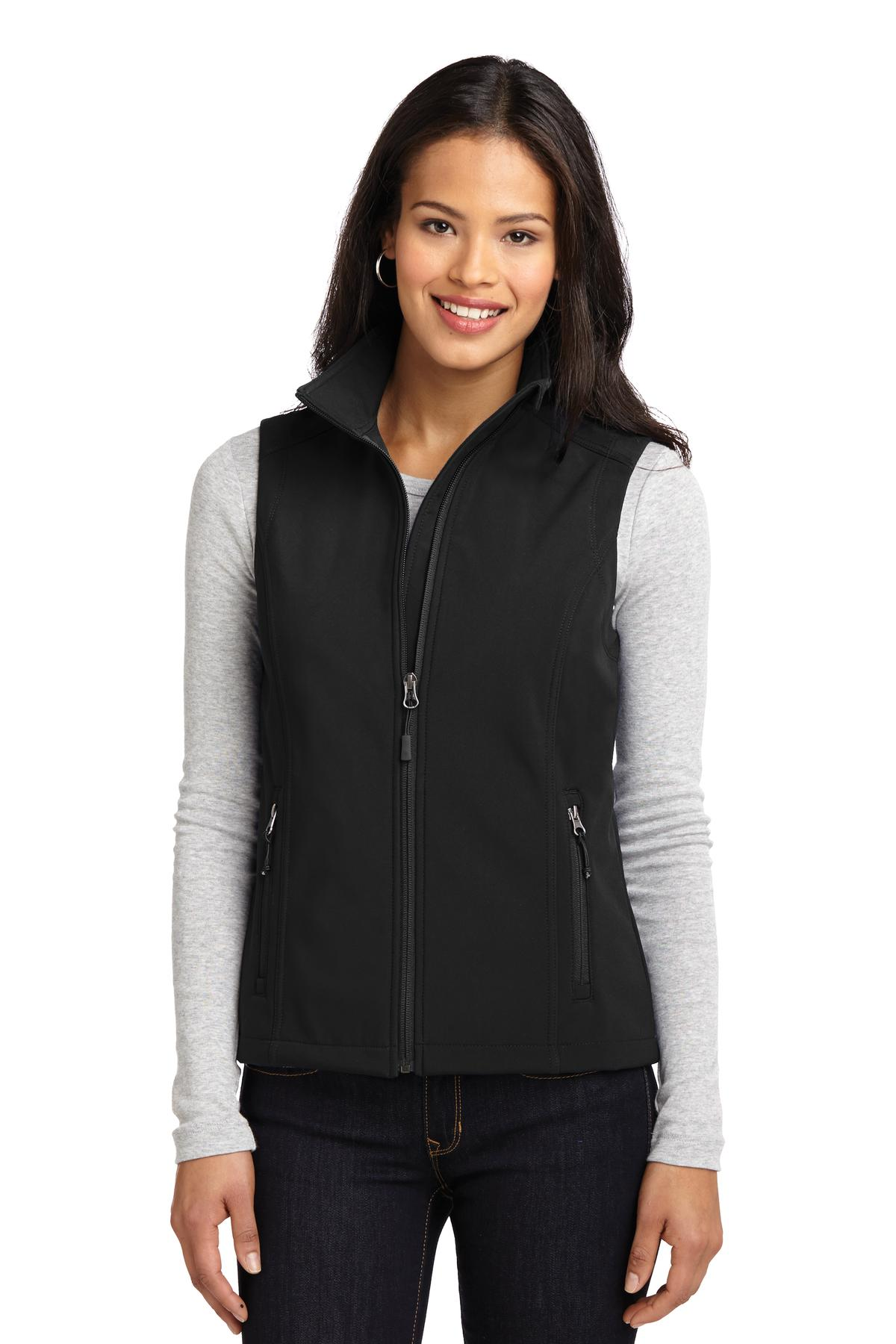Port Authority ®  Ladies Core Soft Shell Vest. L325 - Black