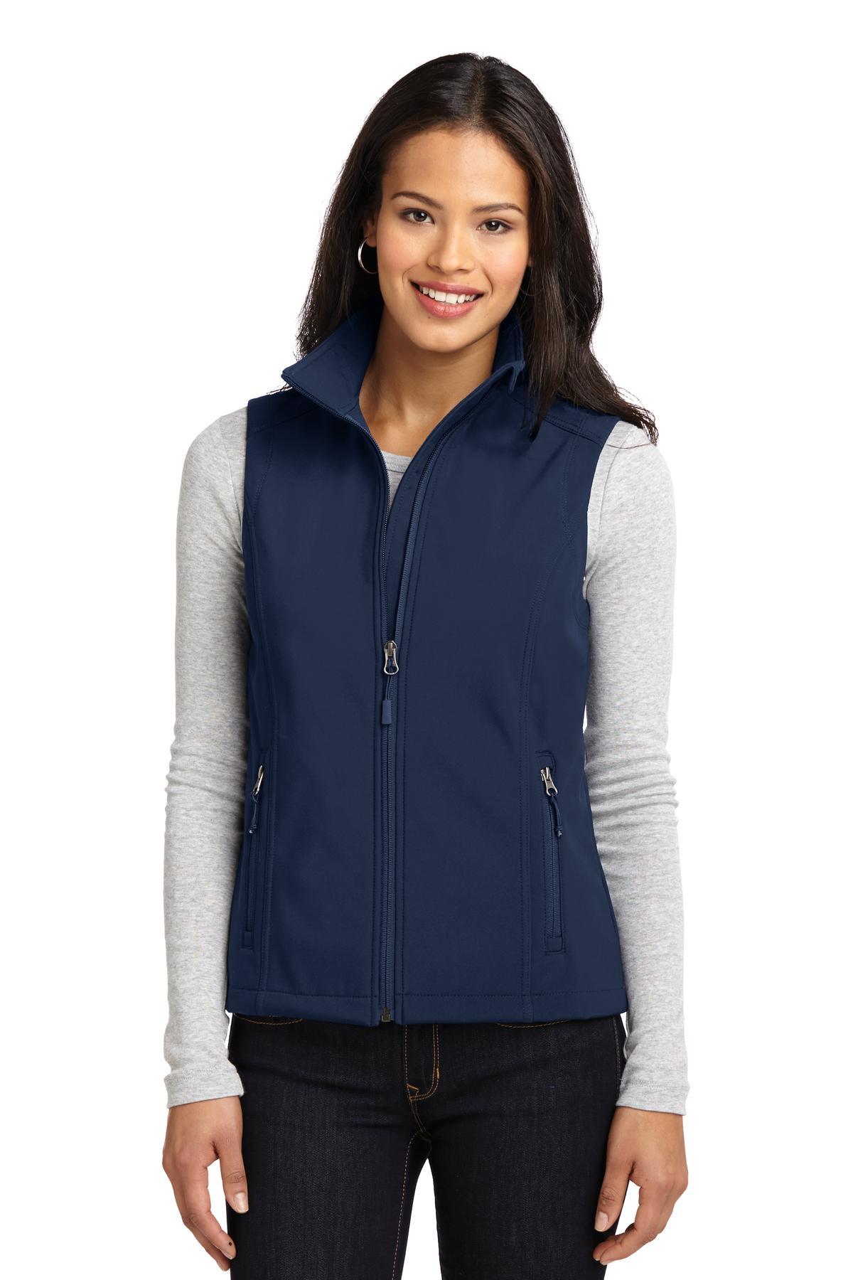 Port Authority ®  Ladies Core Soft Shell Vest. L325 - Dress Blue Navy