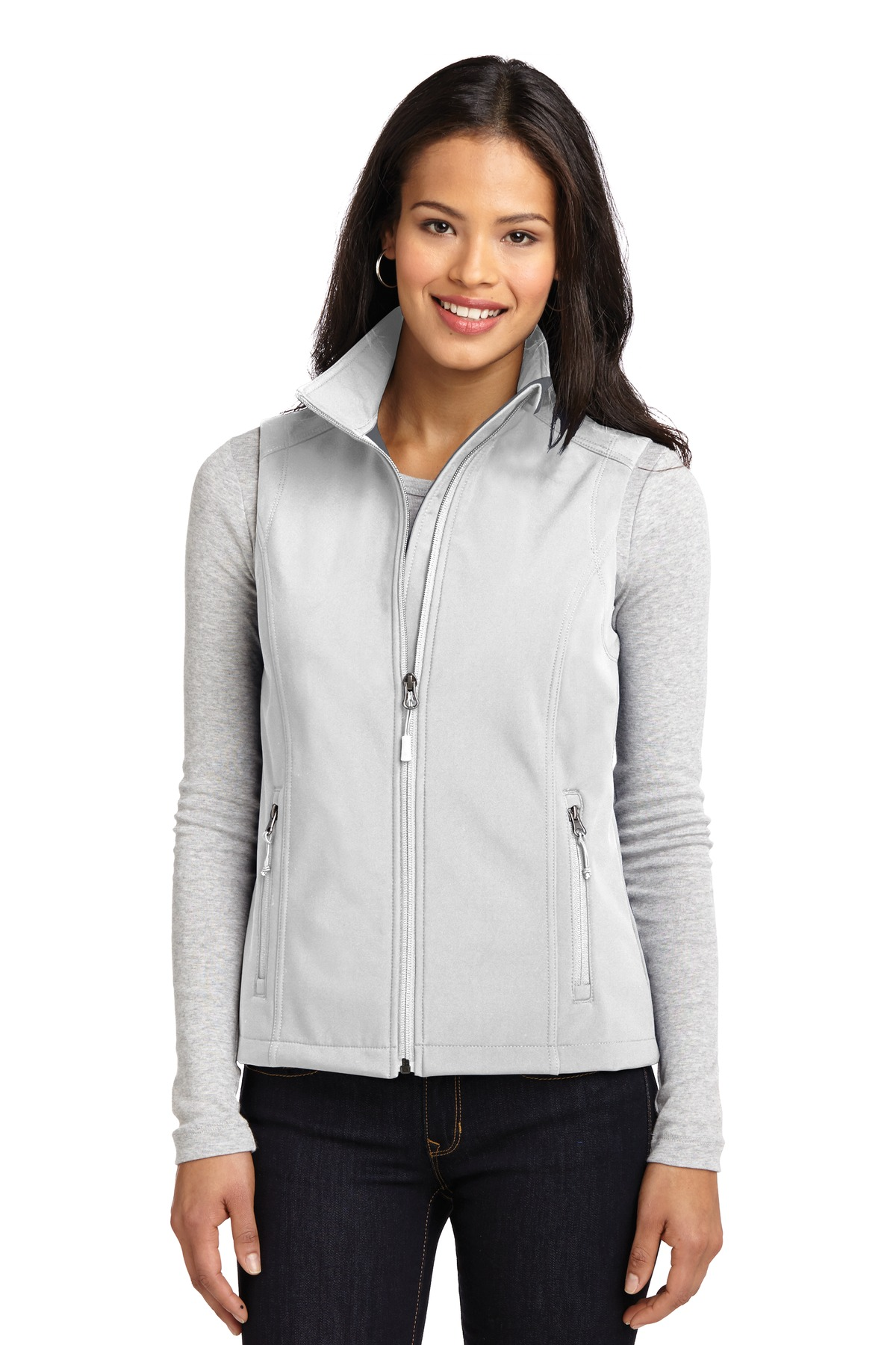 Port Authority ®  Ladies Core Soft Shell Vest. L325 - Marshmallow