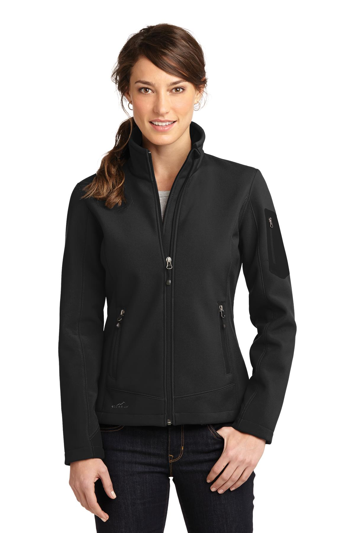 Eddie Bauer Ladies Rugged Ripstop Soft Shell Jacket. EB535
