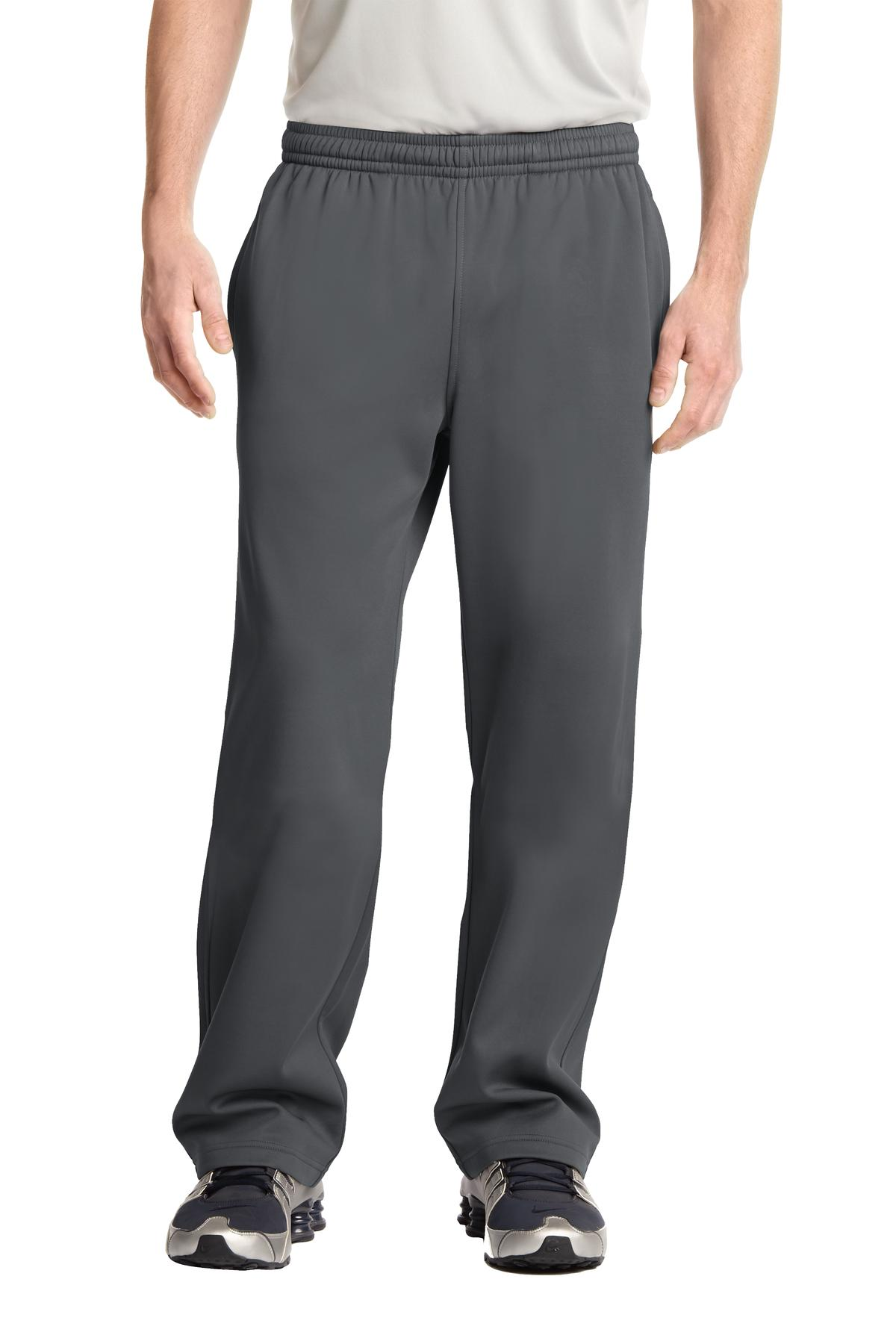 Sport-Tek ®  Sport-Wick ®  Fleece Pant. ST237 - Dark Smoke Grey