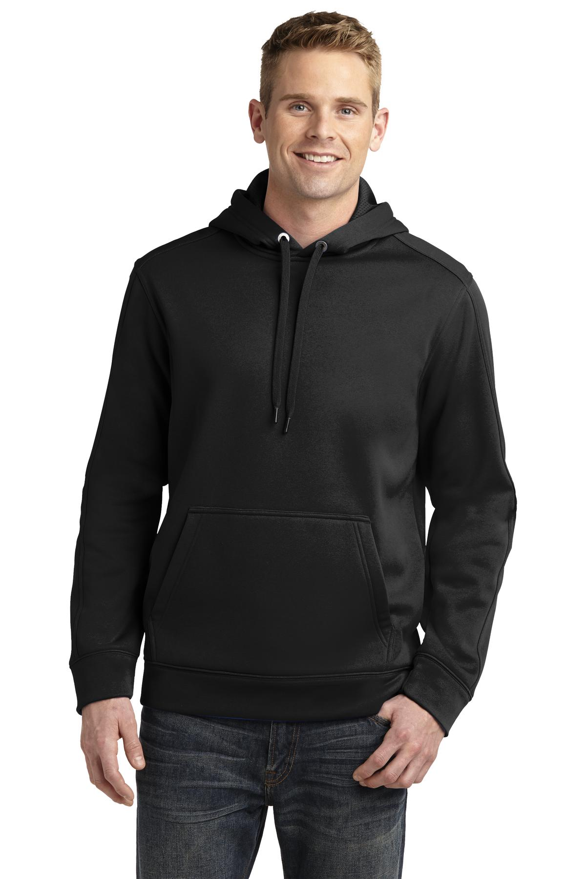 Sport-Tek ®  Repel Fleece Hooded Pullover. ST290 - Black