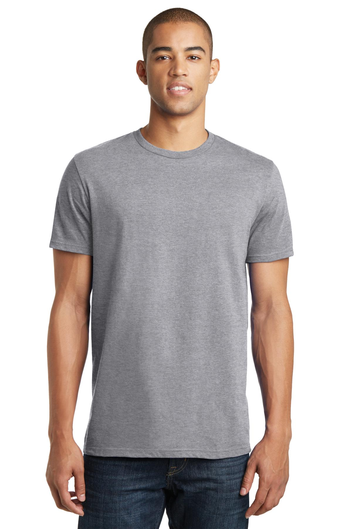 District ®  The Concert Tee ®  DT5000 - Heather Grey