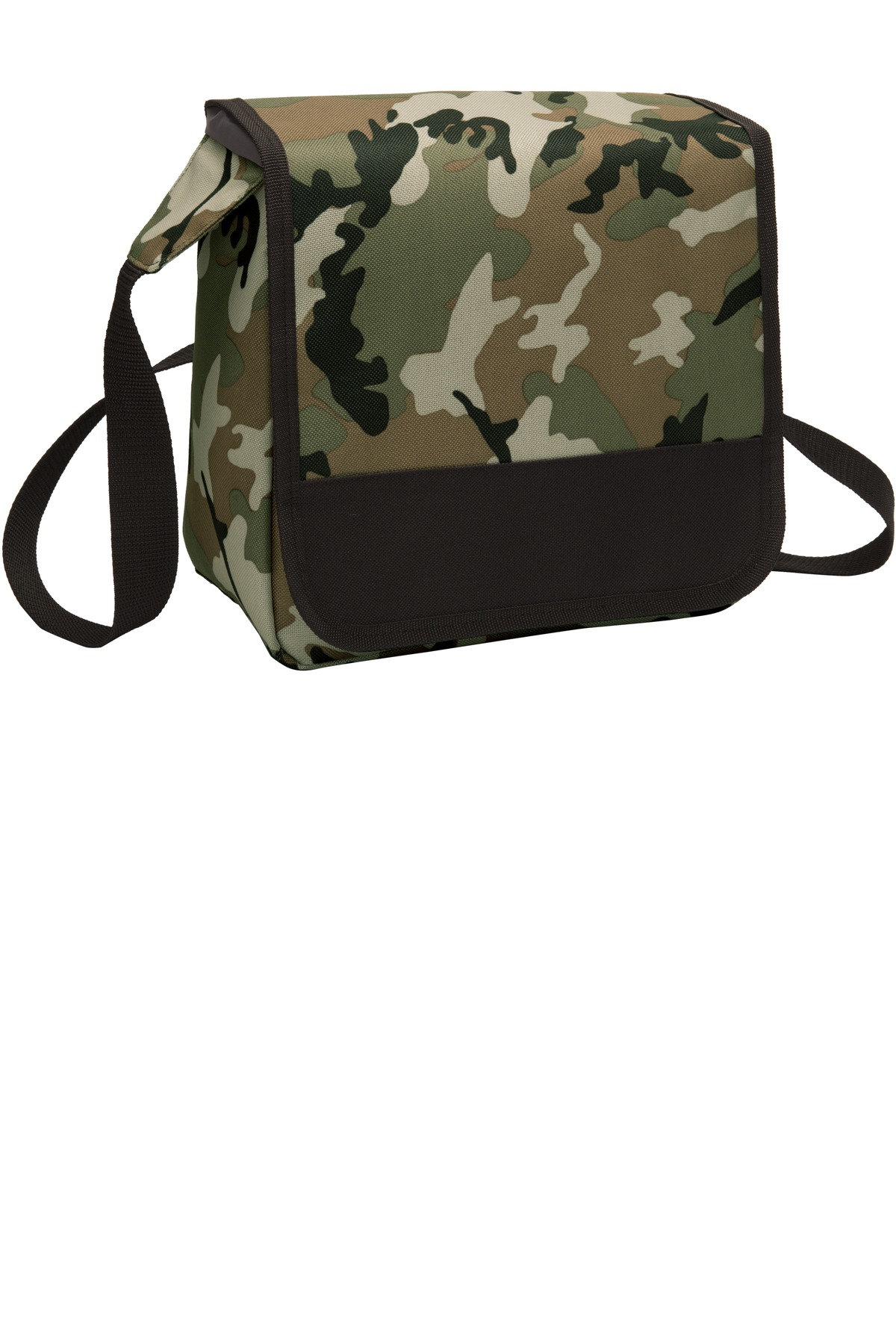 Port Authority ®  Lunch Cooler Messenger. BG753 - Military Camo/ Black