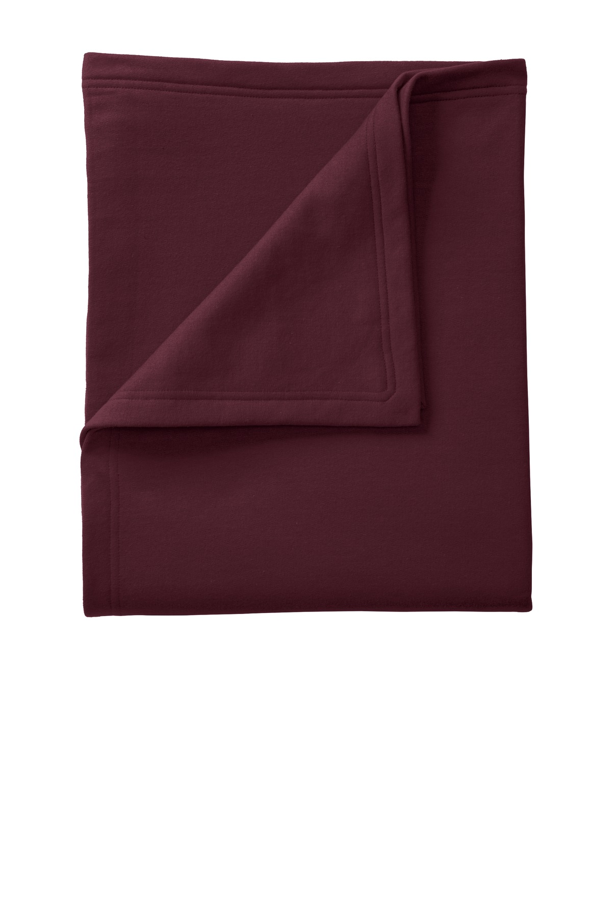 Port & Company ®  Core Fleece Sweatshirt Blanket. BP78 - Maroon
