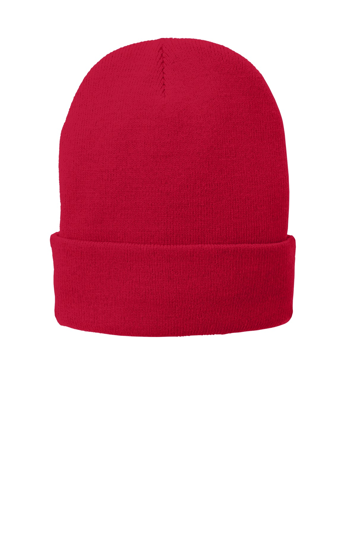 Port & Company ®  Fleece-Lined Knit Cap. CP90L - Athletic Red