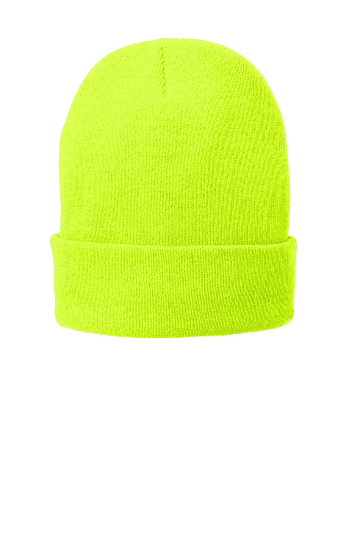 Port & Company ®  Fleece-Lined Knit Cap. CP90L - Neon Yellow