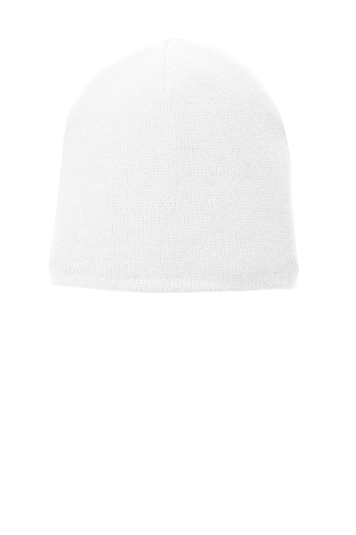 Port & Company ®  Fleece-Lined Beanie Cap. CP91L - White