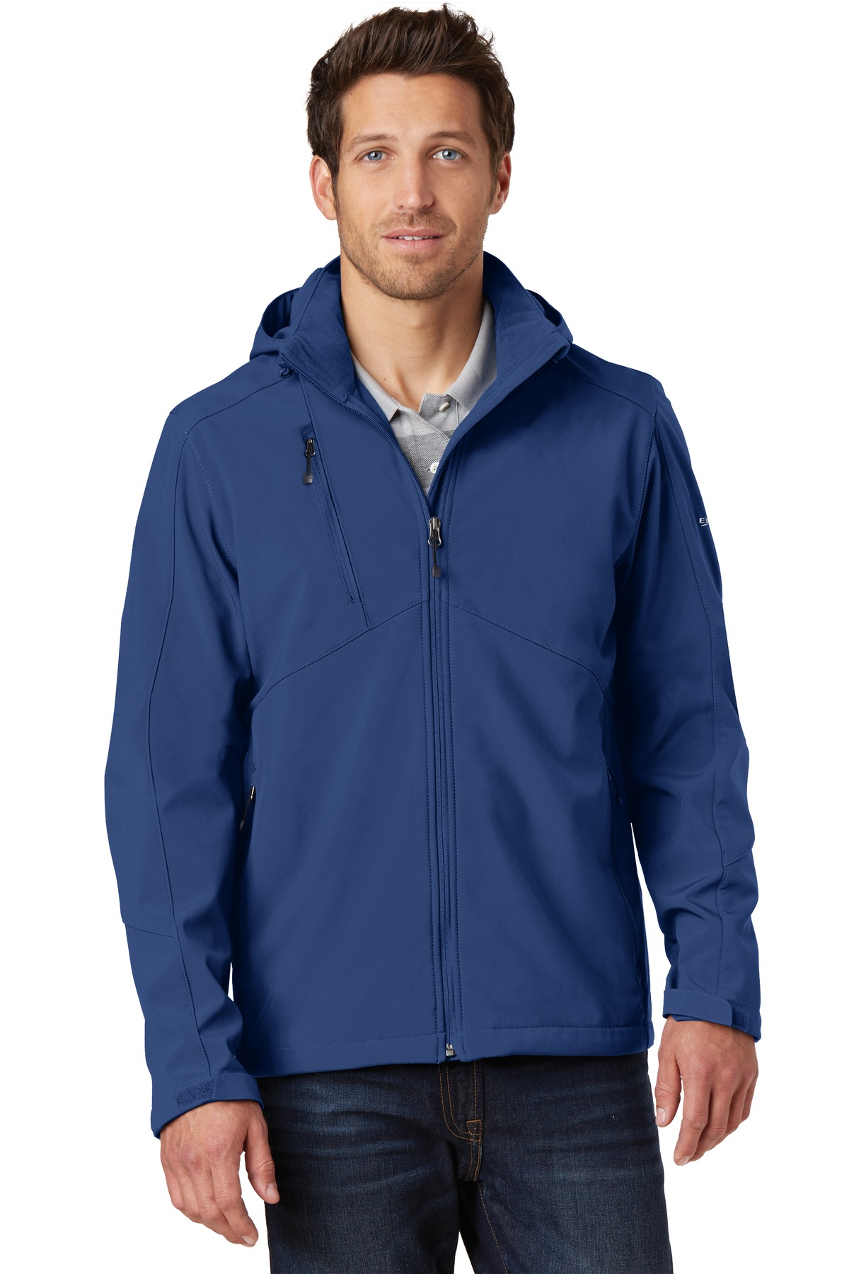 Eddie Bauer Hooded Soft Shell Parka. EB536