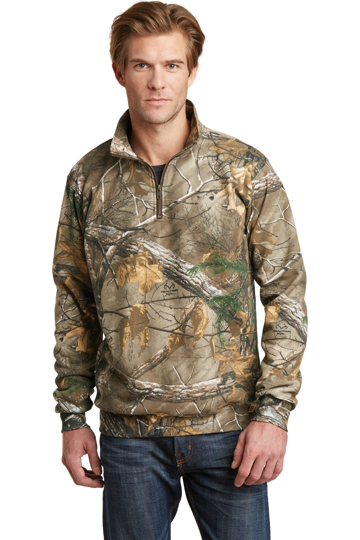 Russell Outdoors ™  Realtree ®  1/4-Zip Sweatshirt. RO78Q - Realtree Xtra