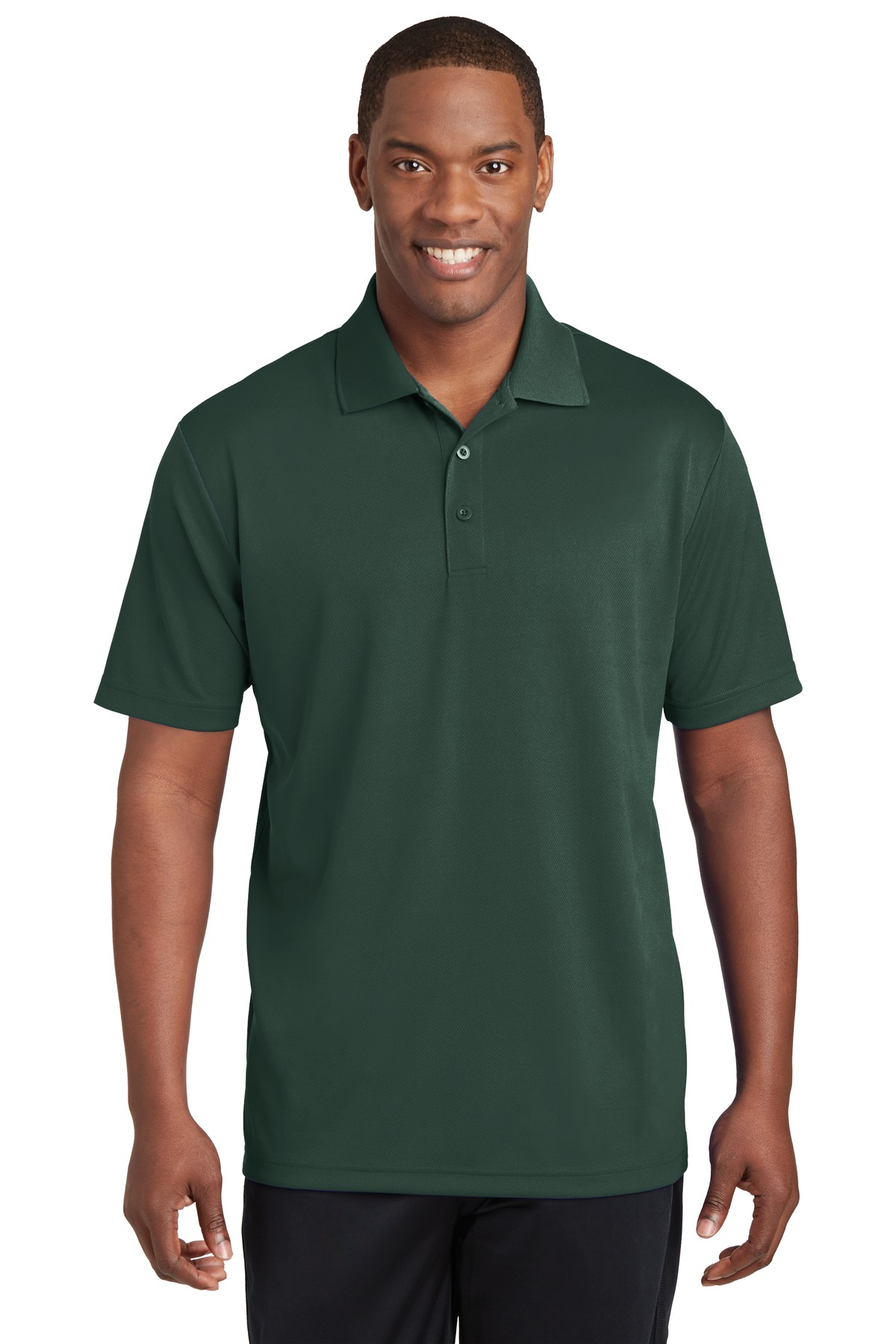 Sport-Tek ®  PosiCharge ®  RacerMesh ®  Polo. ST640 - Dark Forest Green