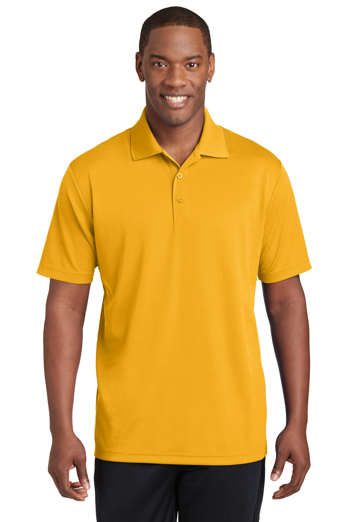 Sport-Tek ®  PosiCharge ®  RacerMesh ®  Polo. ST640 - Gold