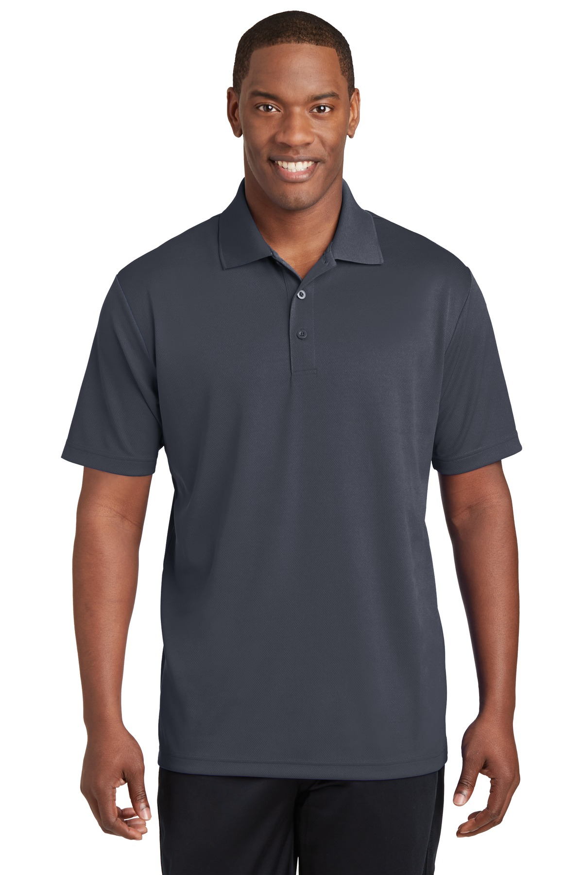 Sport-Tek ®  PosiCharge ®  RacerMesh ®  Polo. ST640 - Graphite Grey