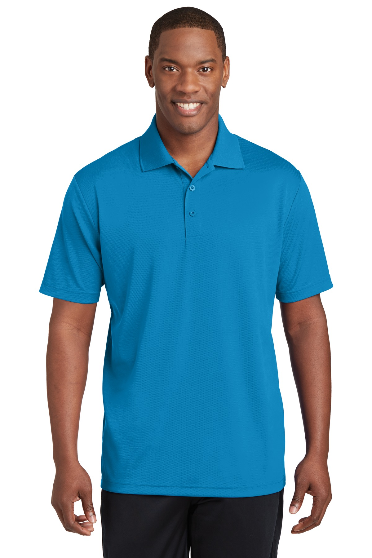 Sport-Tek ®  PosiCharge ®  RacerMesh ®  Polo. ST640 - Pond Blue