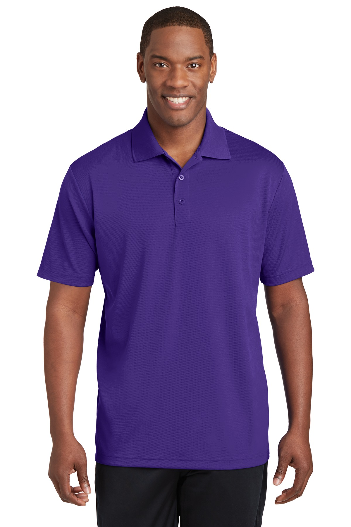 Sport-Tek ®  PosiCharge ®  RacerMesh ®  Polo. ST640 - Purple