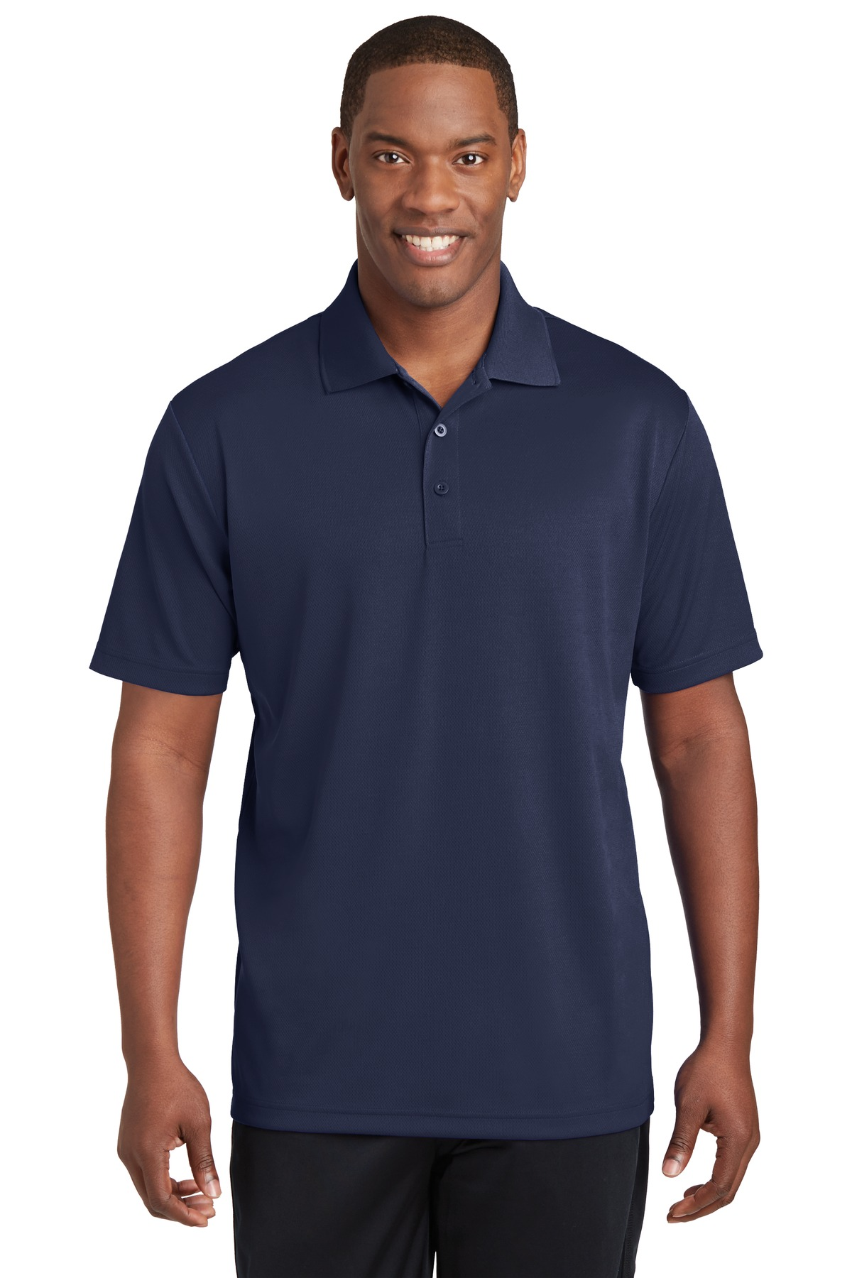 Sport-Tek ®  PosiCharge ®  RacerMesh ®  Polo. ST640 - True Navy
