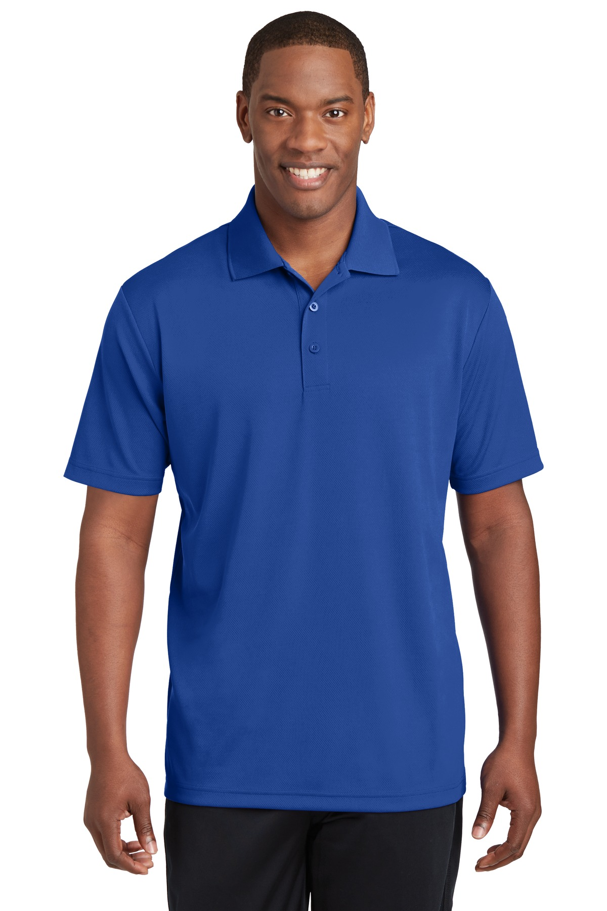 Sport-Tek ®  PosiCharge ®  RacerMesh ®  Polo. ST640 - True Royal