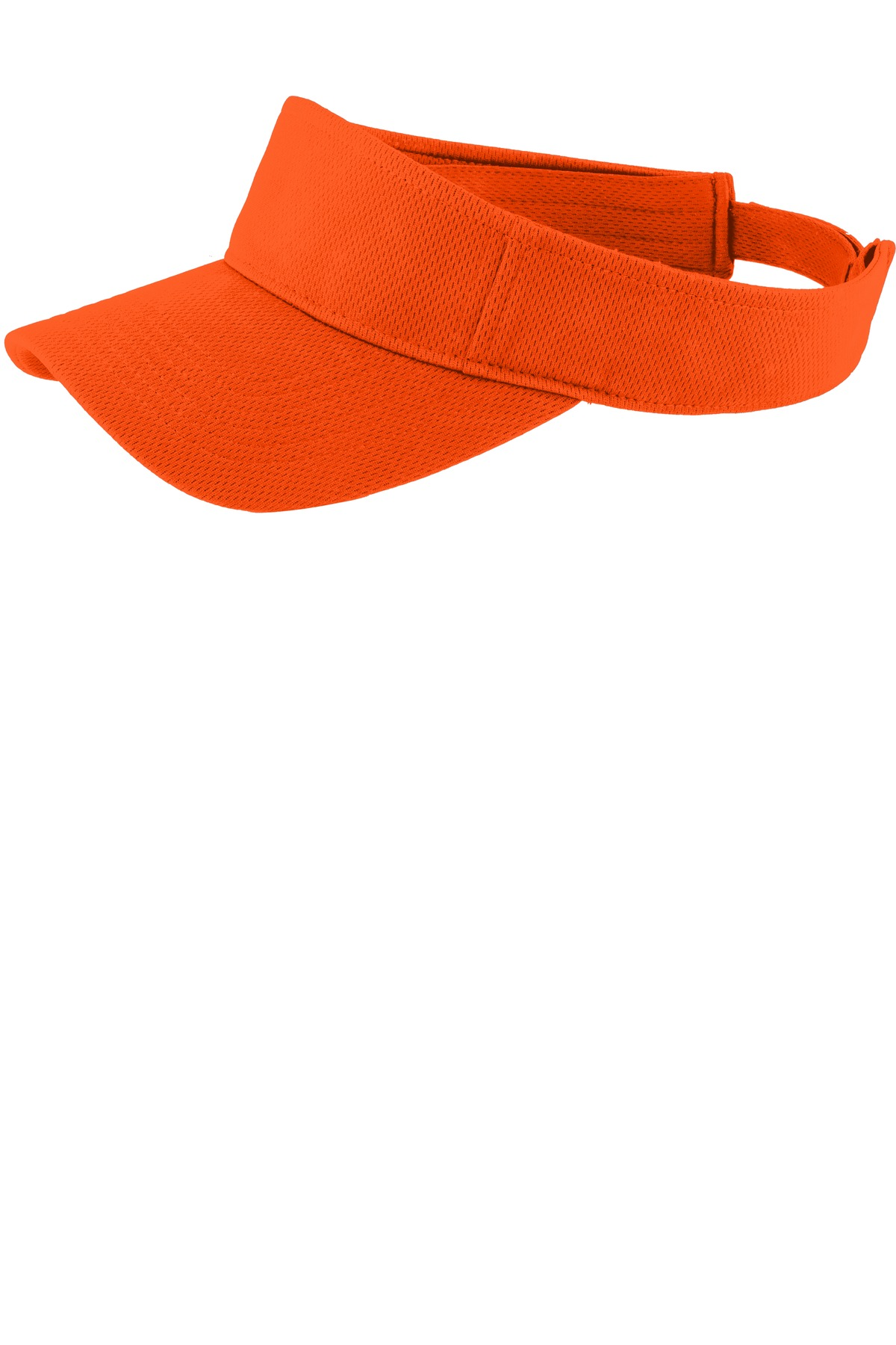 Sport-Tek ®  PosiCharge ®  RacerMesh ®  Visor.  STC27 - Neon Orange