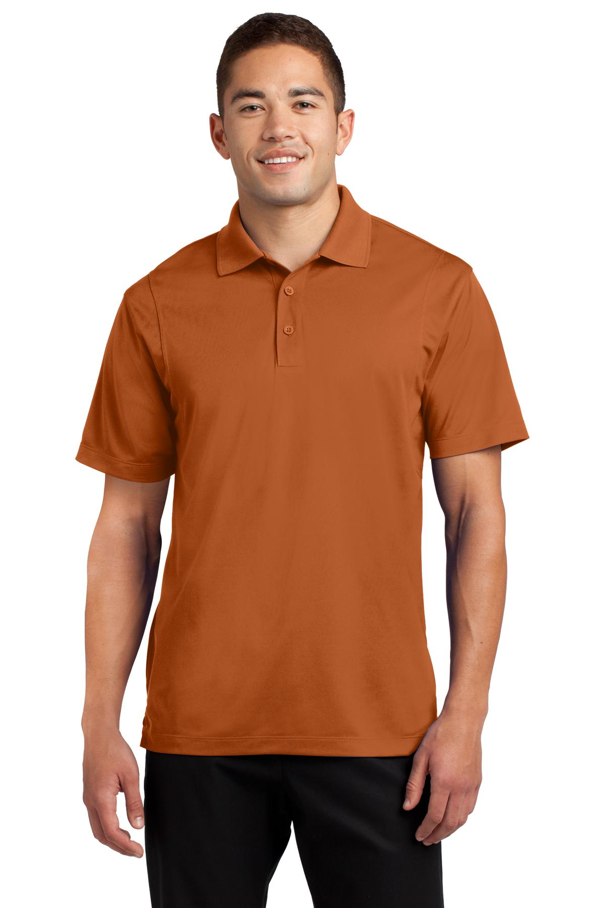 Sport-Tek ®  Micropique Sport-Wick ®  Polo. ST650 - Texas Orange