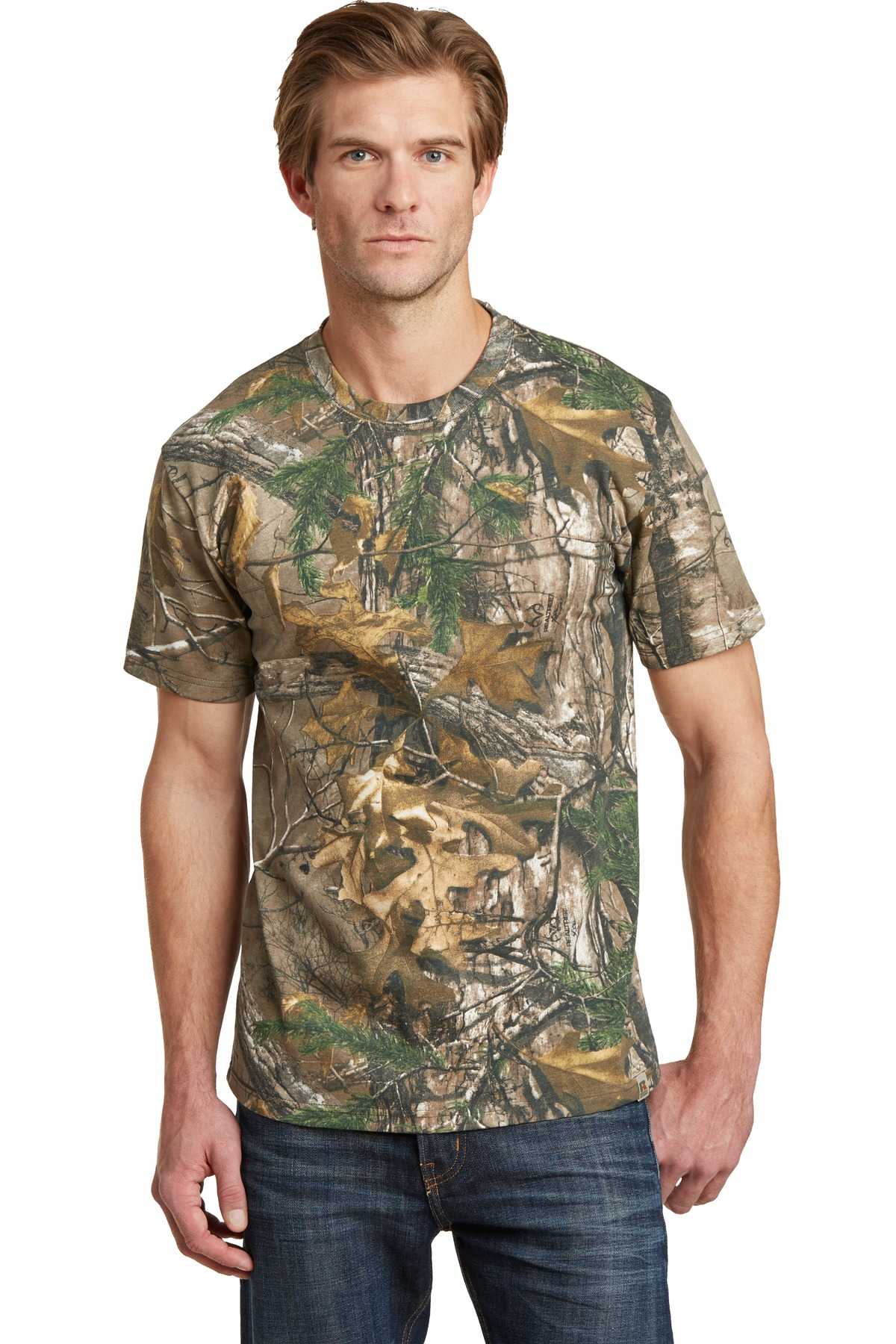 Russell Outdoors ™  - Realtree ®  Explorer 100% Cotton T-Shirt. NP0021R - Realtree Xtra