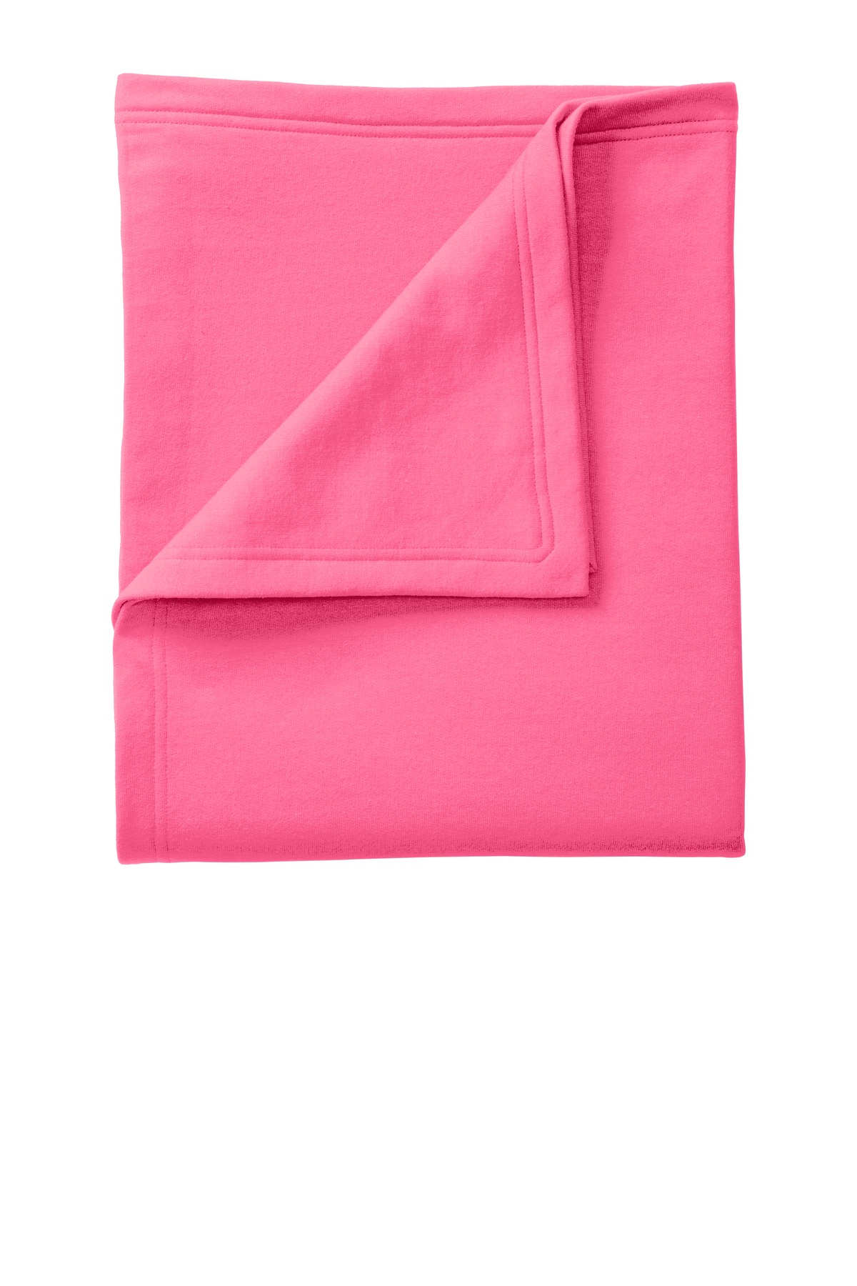 Port & Company ®  Core Fleece Sweatshirt Blanket. BP78 - Neon Pink