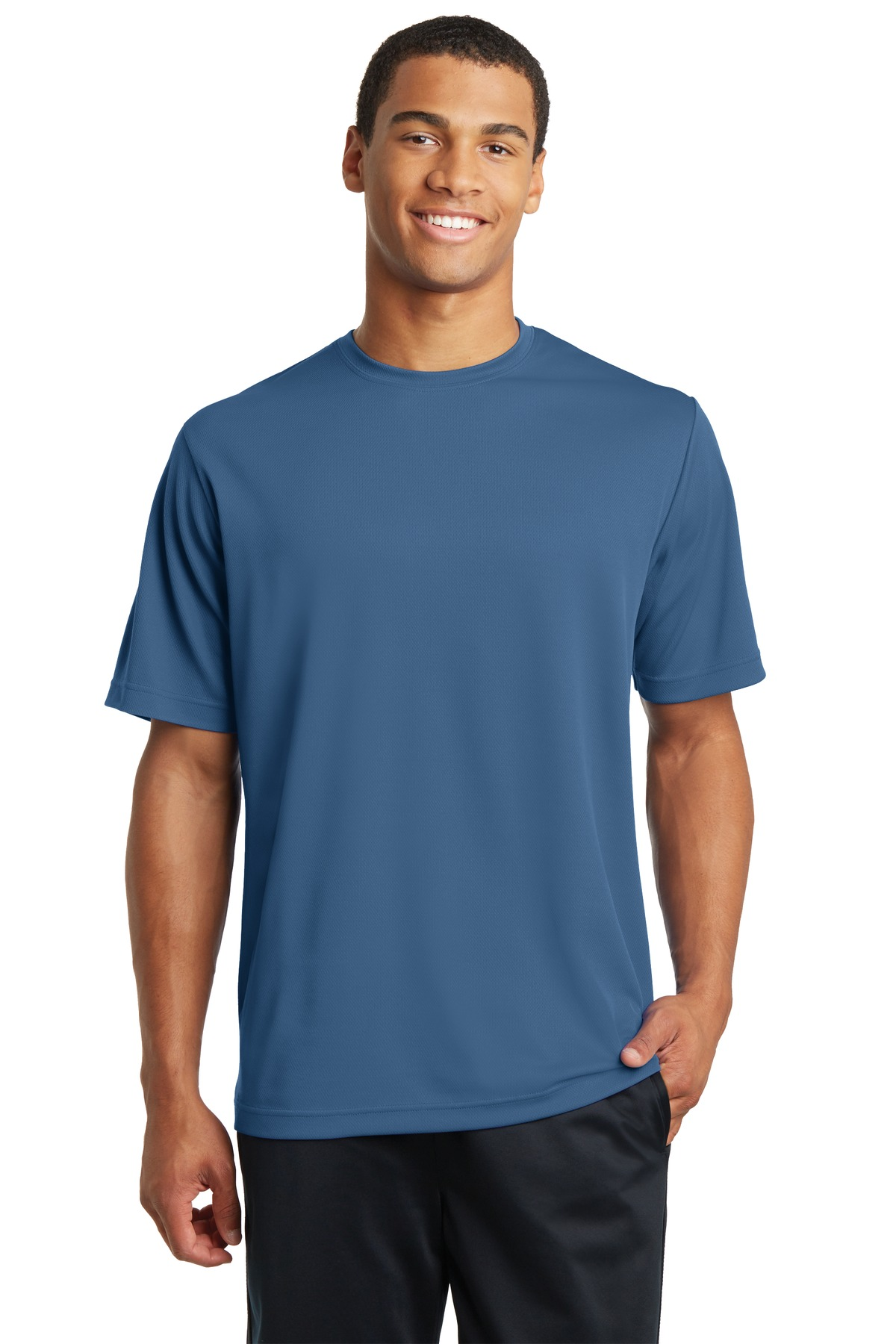 Sport-Tek ®  PosiCharge ®  RacerMesh ®  Tee. ST340 - Dawn Blue