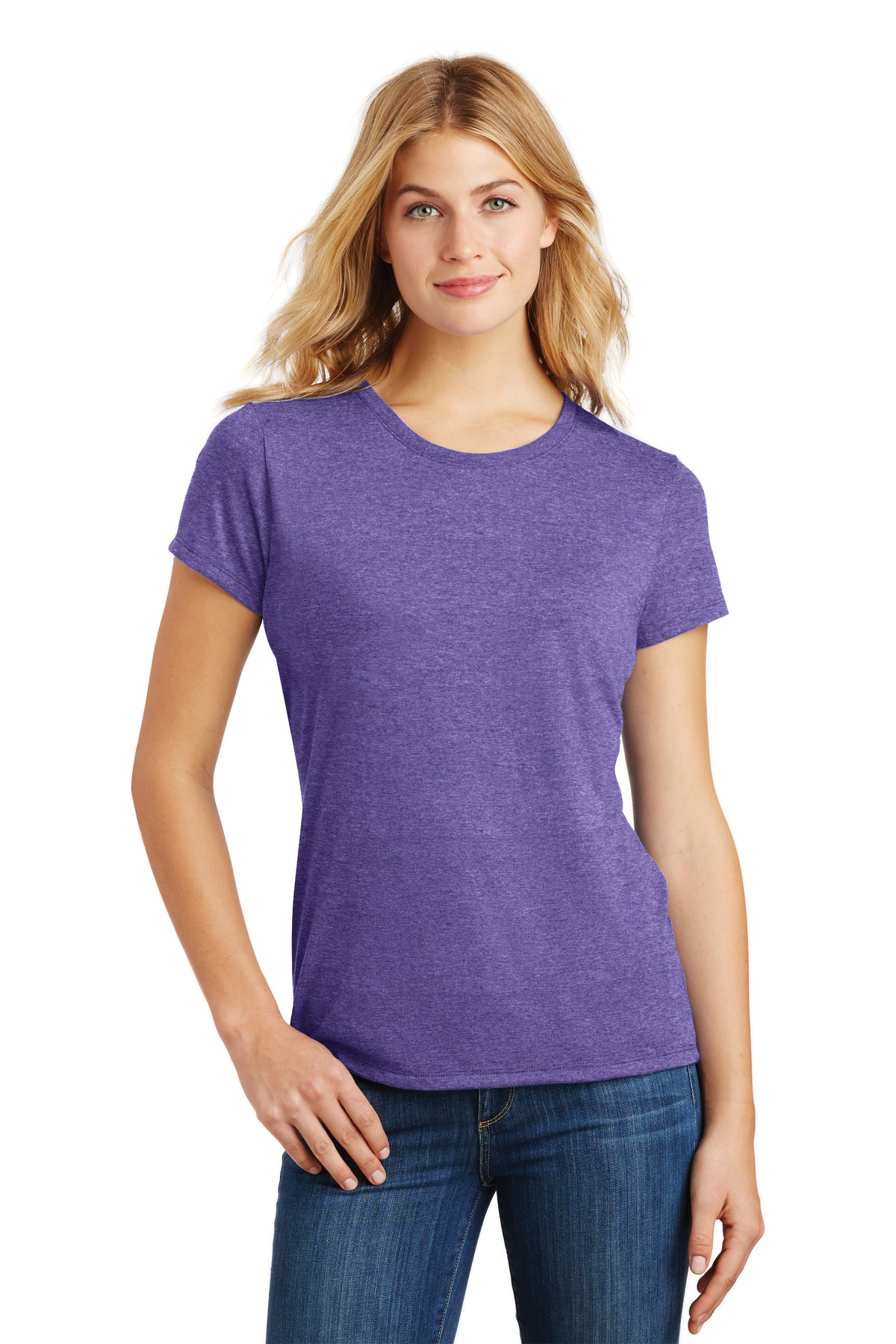 District  ®  Women's Perfect Tri ®  Tee. DM130L - Purple Frost