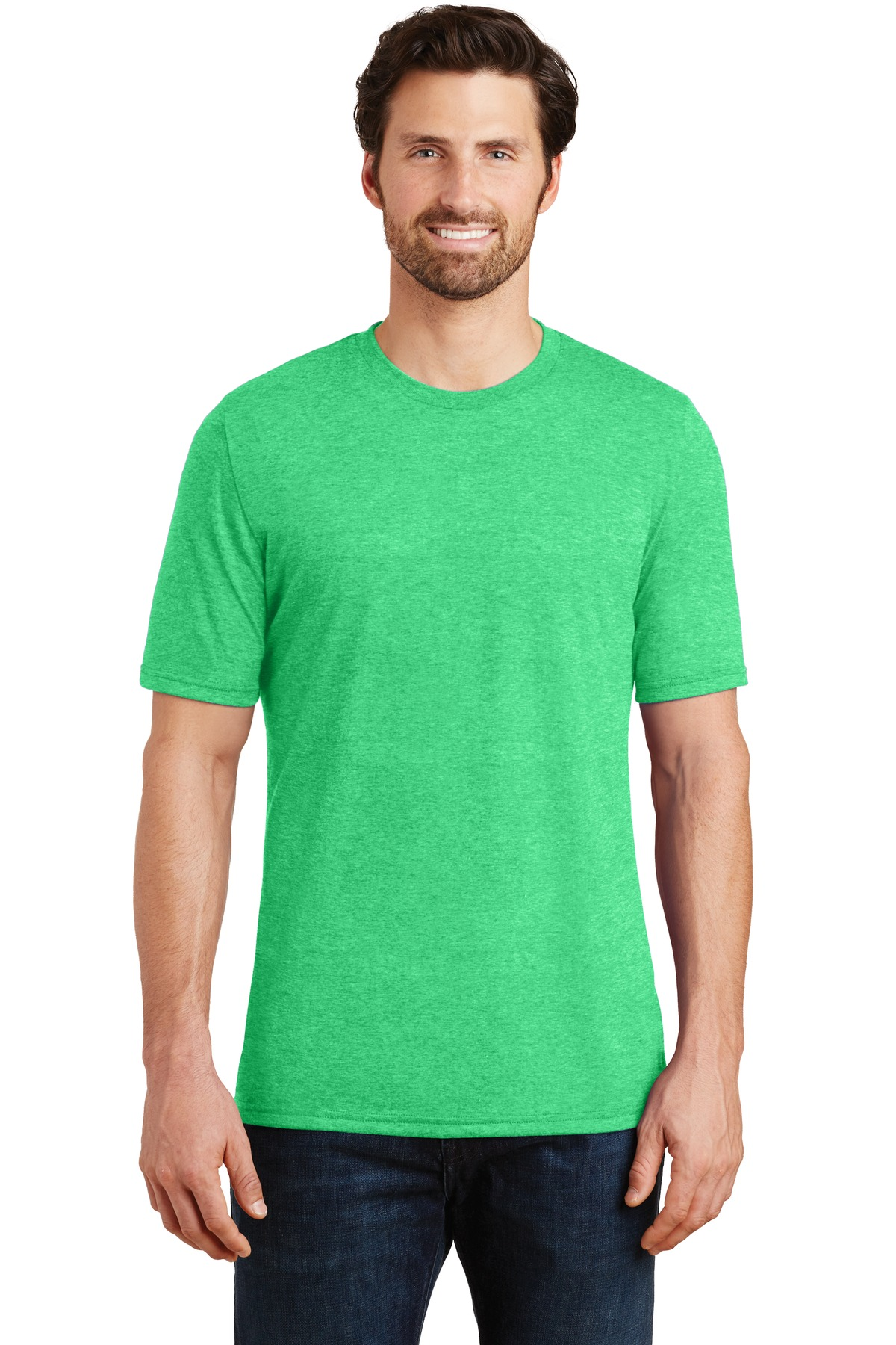 District  ®  Perfect Tri ® Tee. DM130 - Green Frost