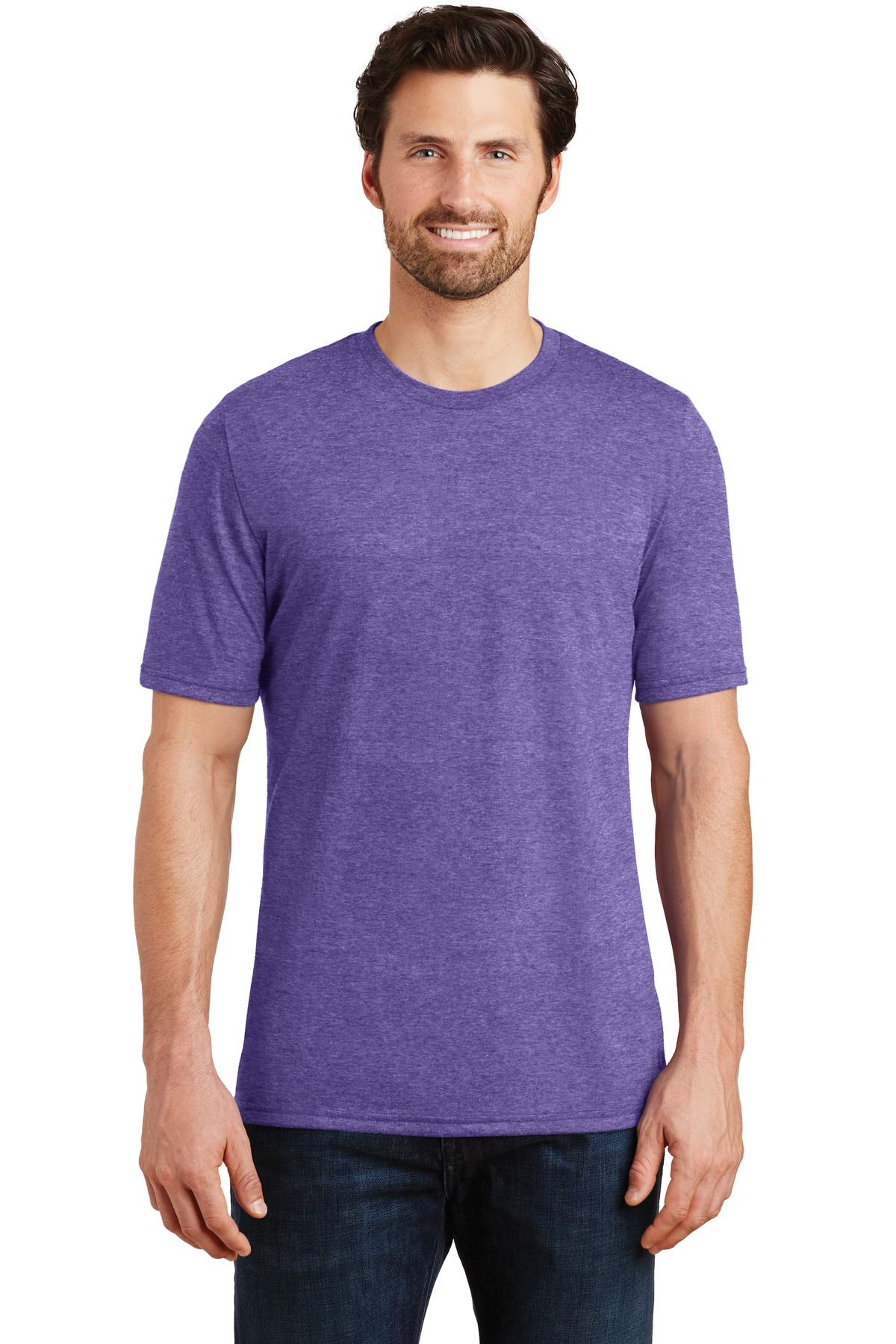 District  ®  Perfect Tri ® Tee. DM130 - Purple Frost