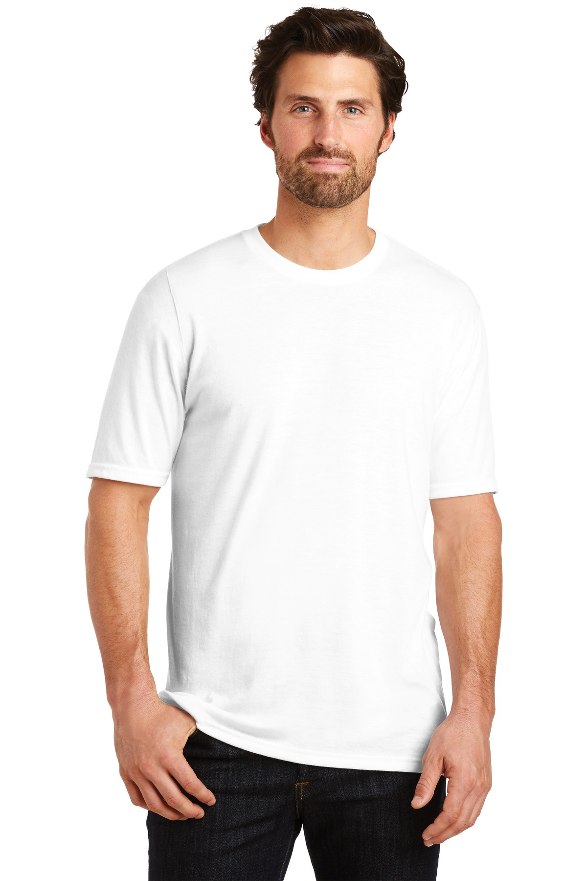 District  ®  Perfect Tri ® Tee. DM130 - White