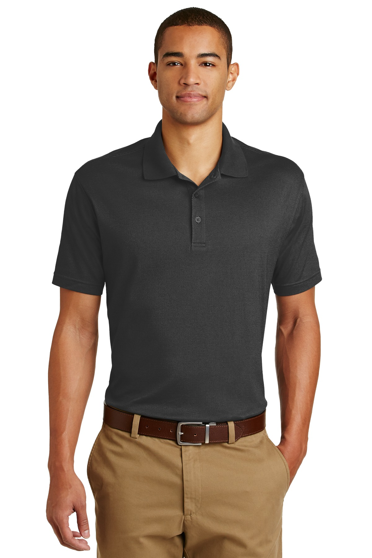 Eddie Bauer ®  Performance Polo. EB102 - Black