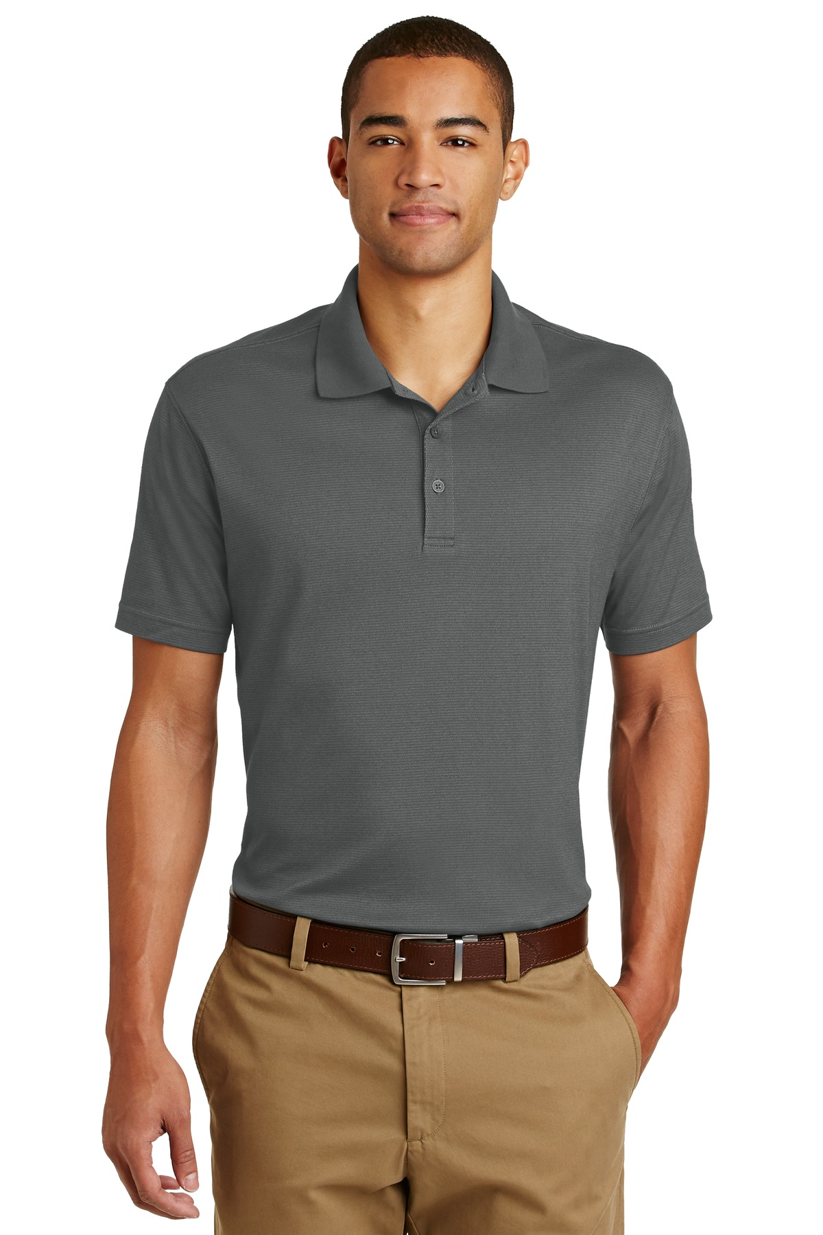 Eddie Bauer ®  Performance Polo. EB102 - Grey Steel