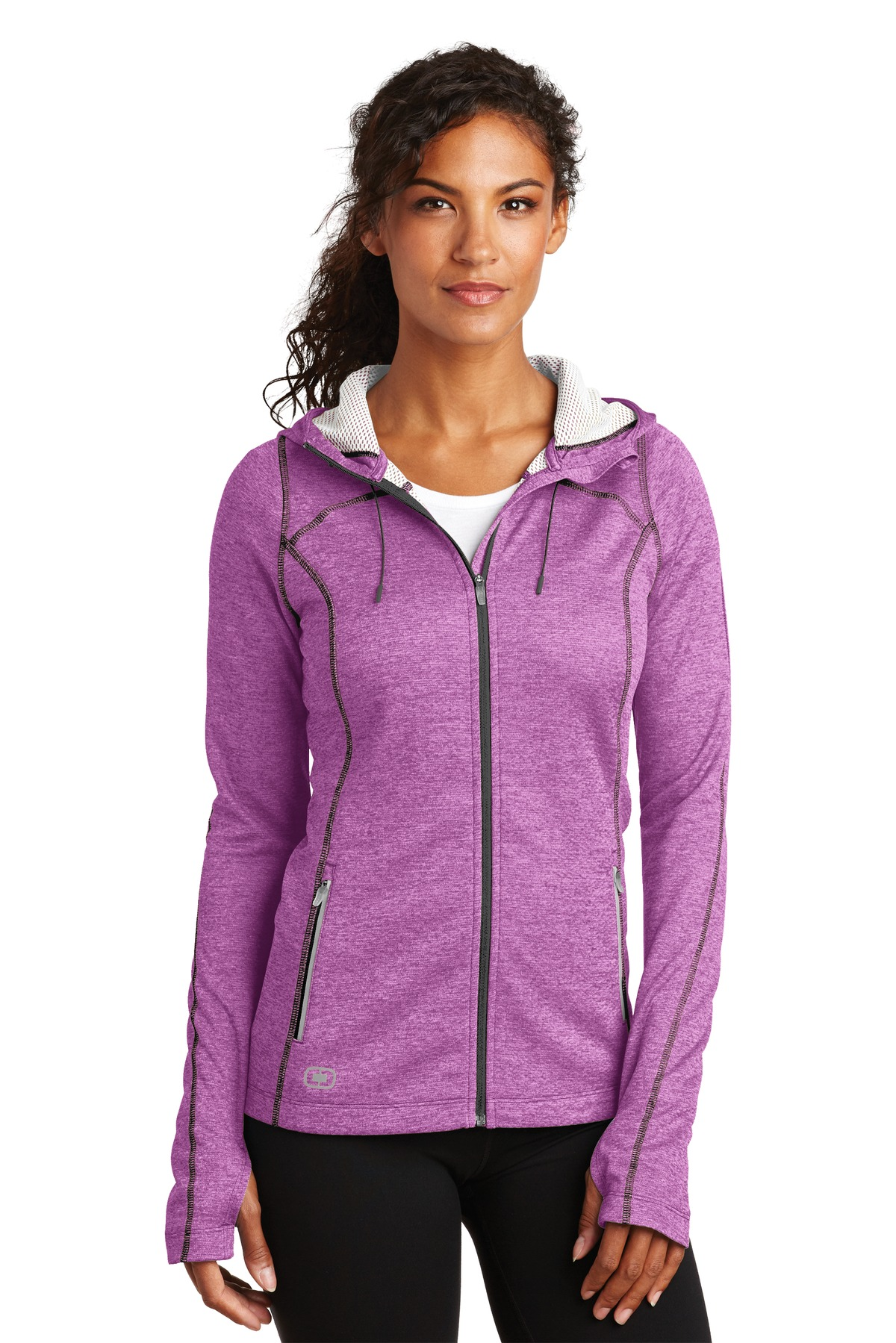 OGIO ®  ENDURANCE Ladies Pursuit Full-Zip. LOE501 - Purple Impact