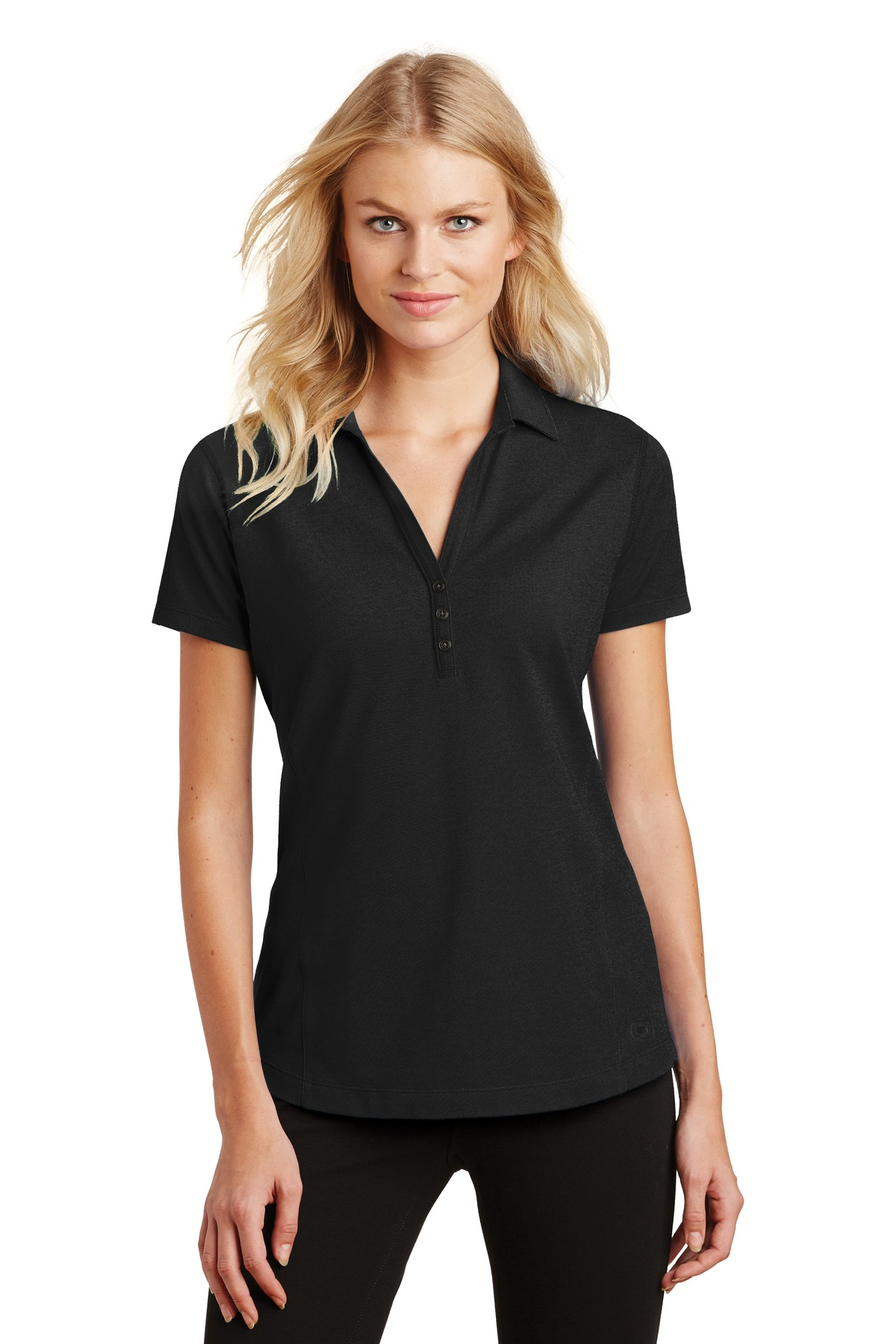 OGIO ®  Ladies Onyx Polo. LOG126 - Blacktop