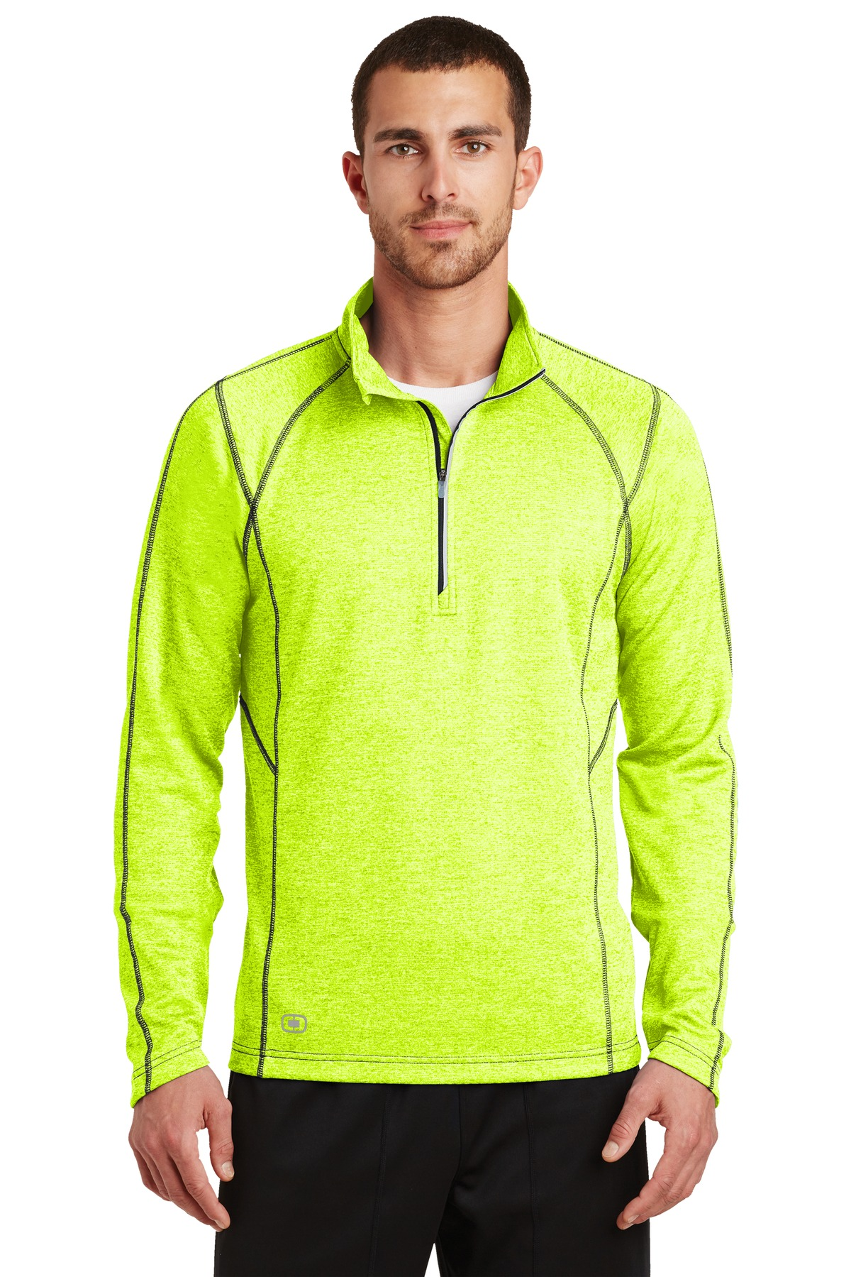 OGIO ®  ENDURANCE Pursuit 1/4-Zip. OE500 - Pace Yellow