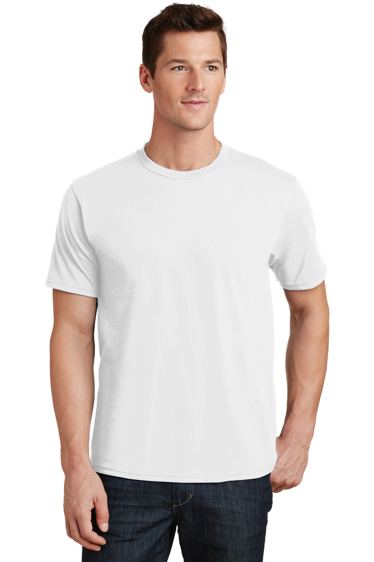 Port & Company ®  Fan Favorite Tee. PC450 - White