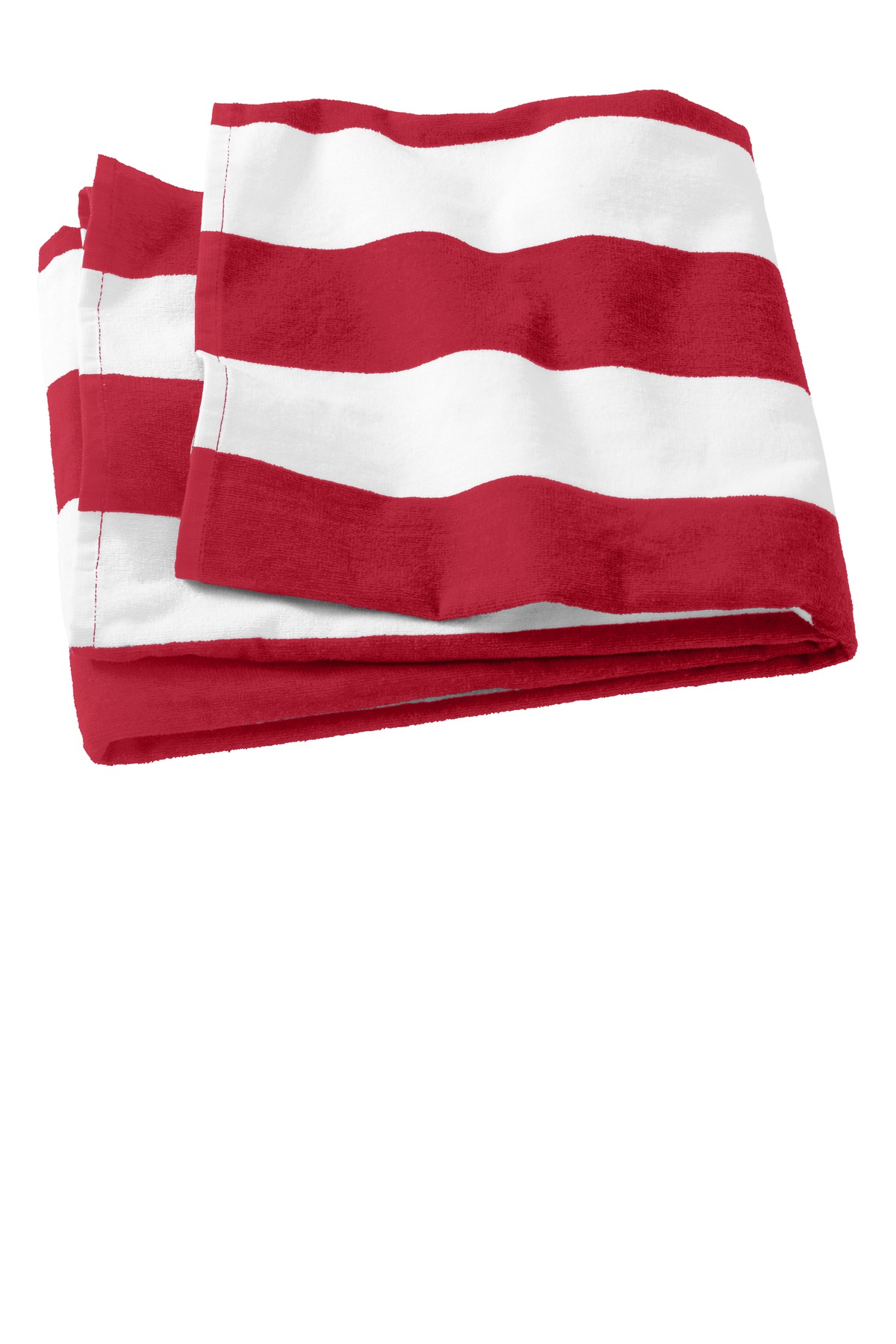 Port Authority ®  Cabana Stripe Beach Towel. PT43 - Red