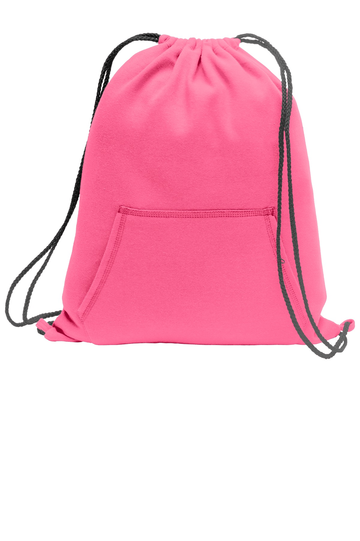 Port & Company ®  Core Fleece Sweatshirt Cinch Pack. BG614 - Neon Pink