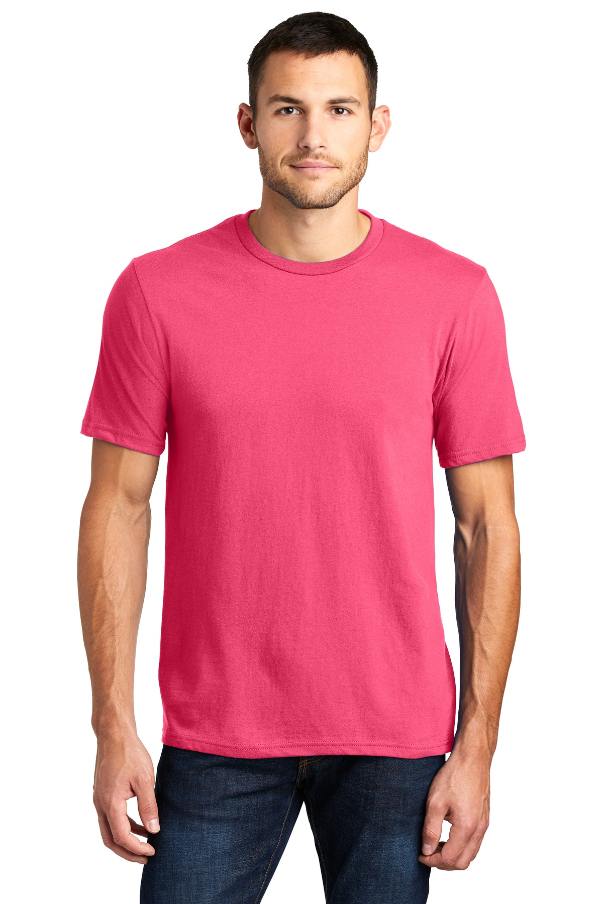 District ®  Very Important Tee ® . DT6000 - Neon Pink