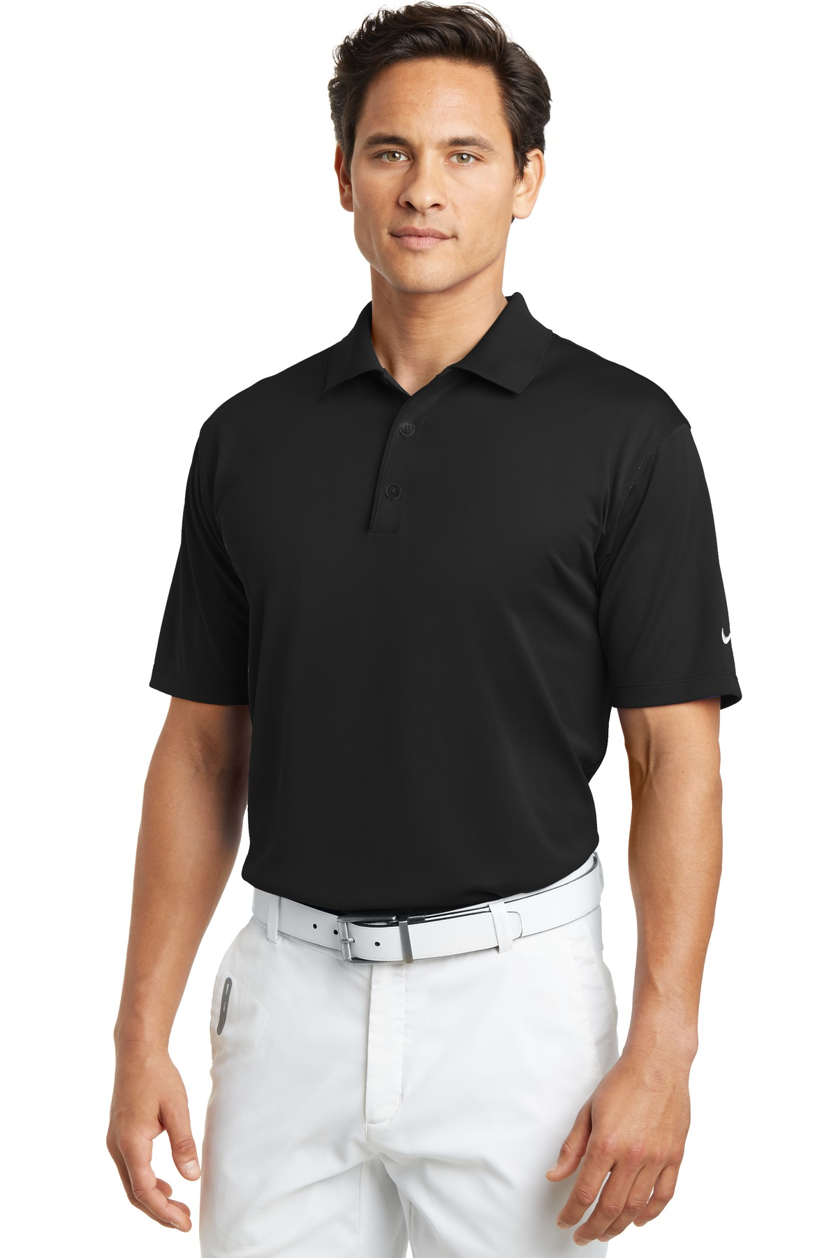 Nike Tech Basic Dri-FIT Polo.  203690 - Black