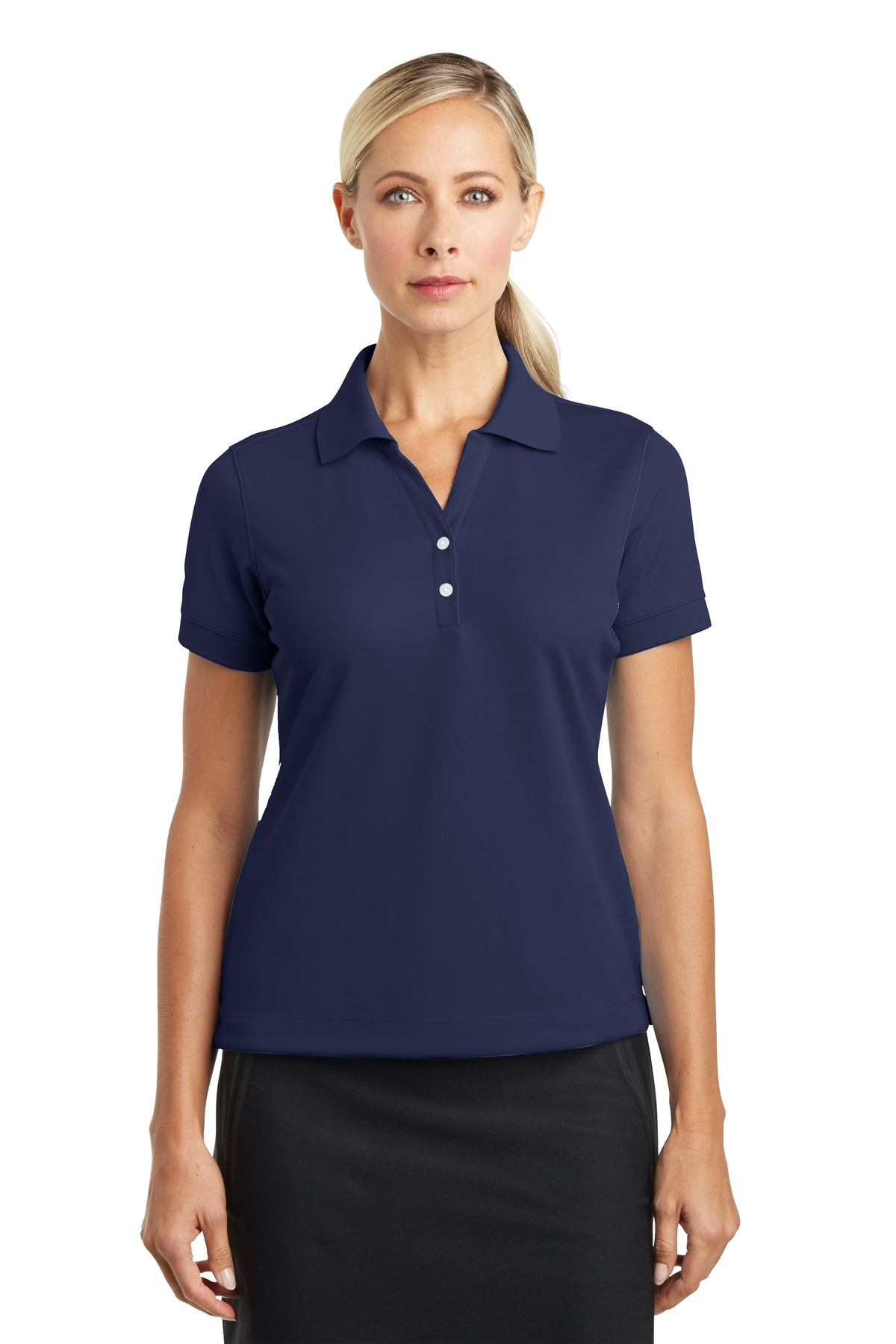 Nike Ladies Dri-FIT Classic Polo.  286772 - Midnight Navy